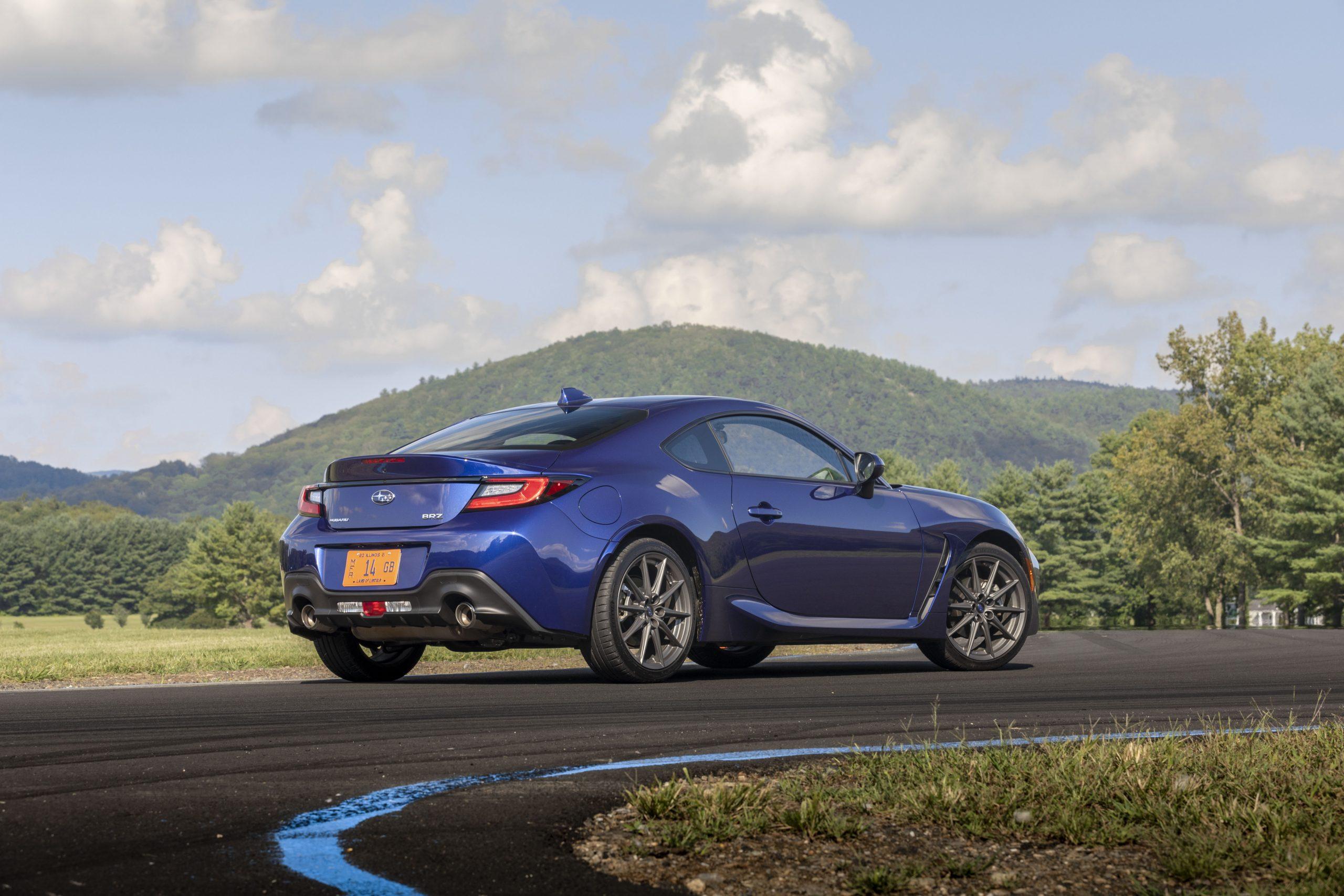 2022 Subaru BRZ rear three-quarter