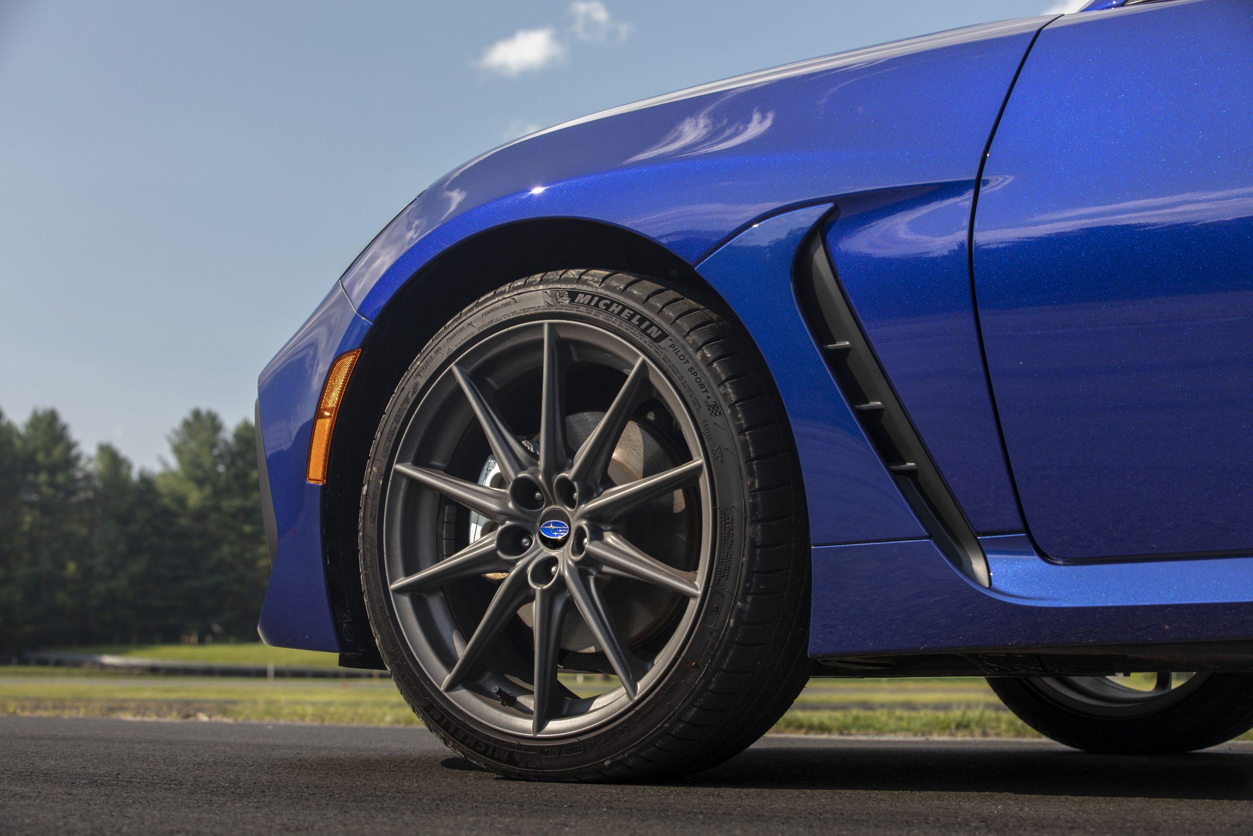 2022 Subaru BRZ front quarter wheel tire brake