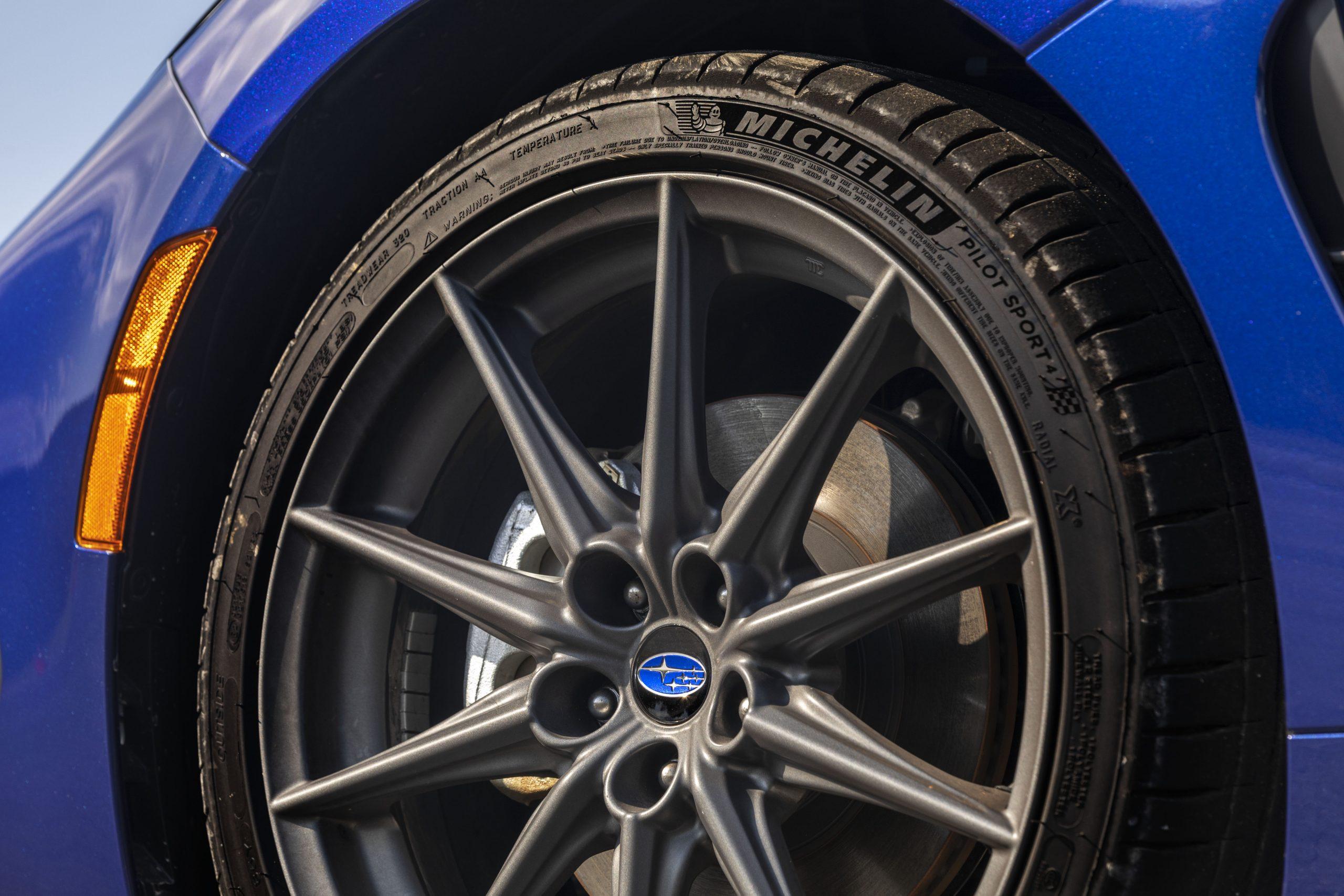 2022 Subaru BRZ wheel tire brake close