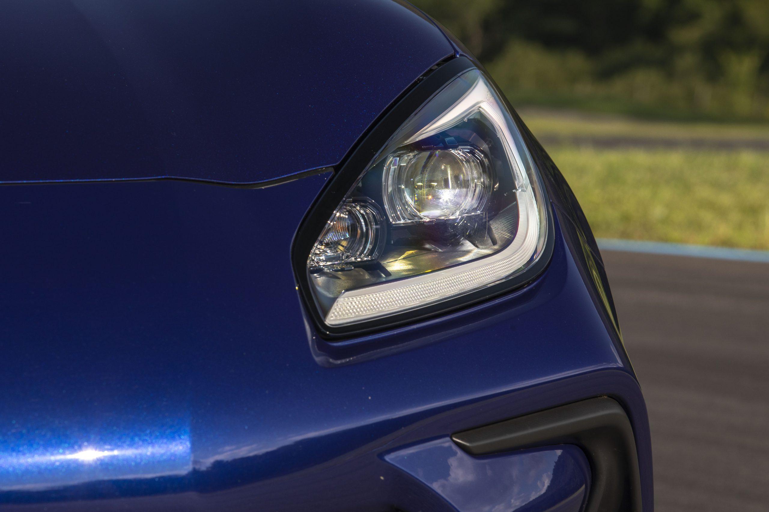 2022 Subaru BRZ headlight close