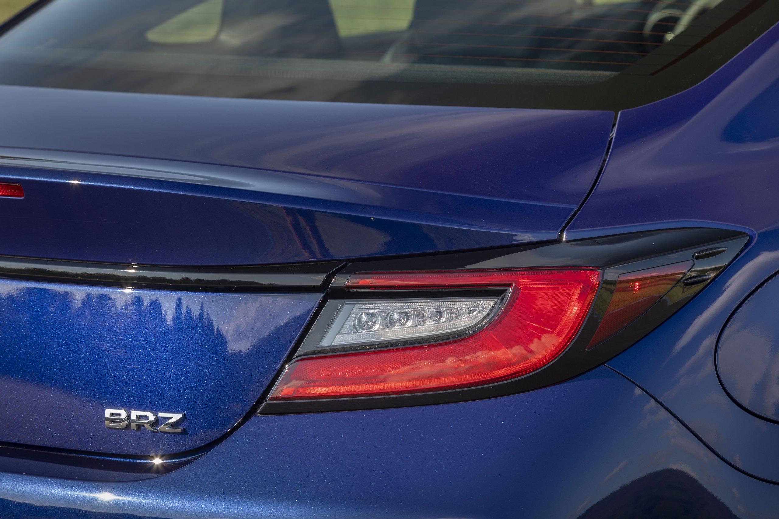 2022 Subaru BRZ rear taillight