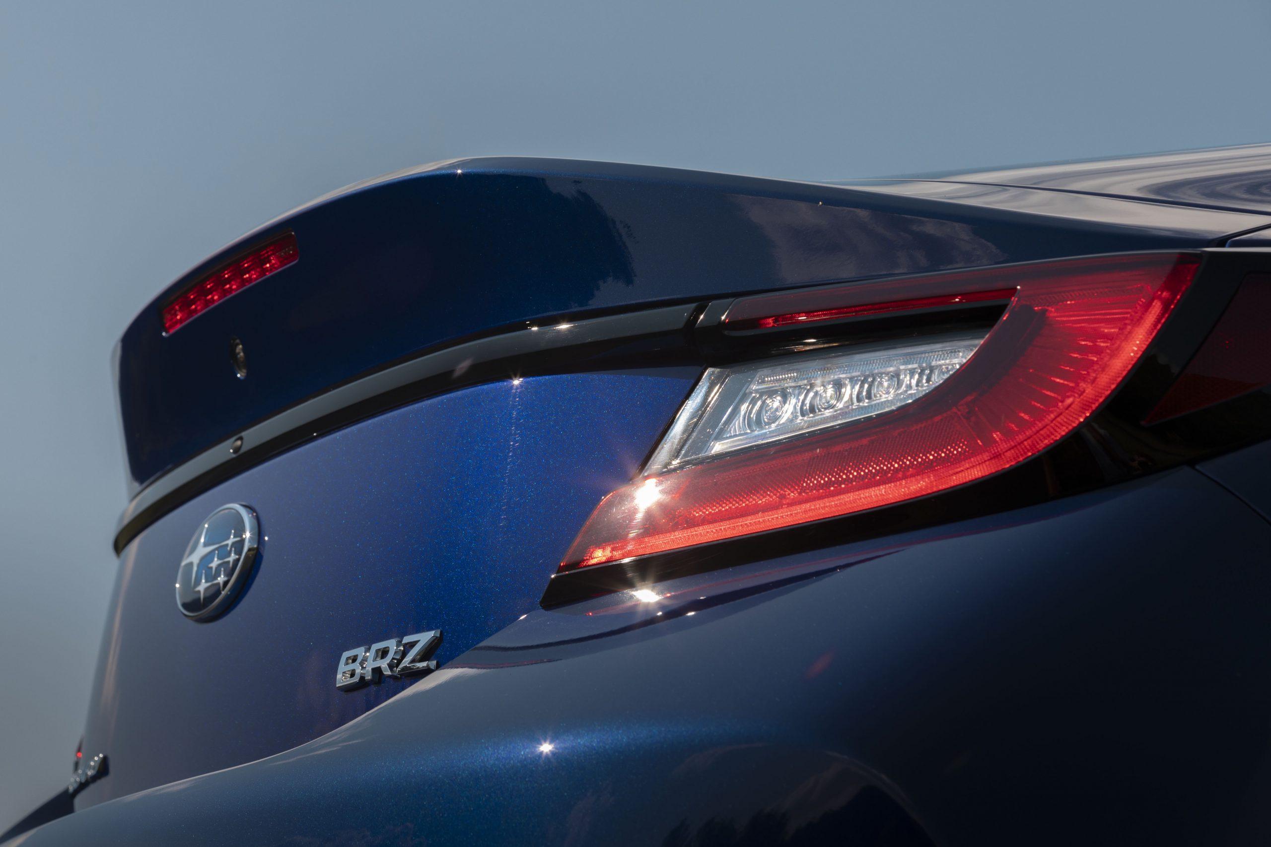 2022 Subaru BRZ rear shape detail
