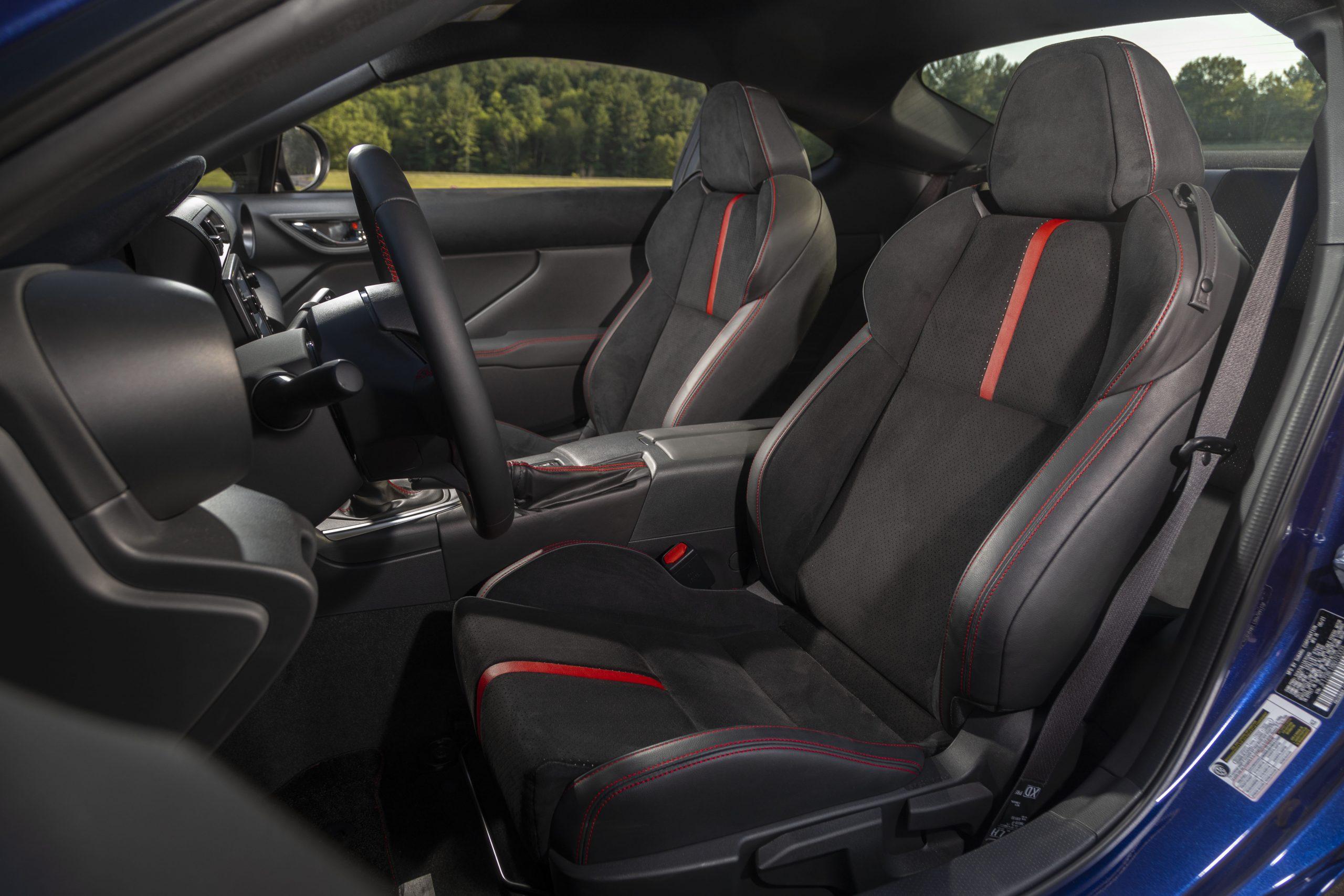 2022 Subaru BRZ interior front seats