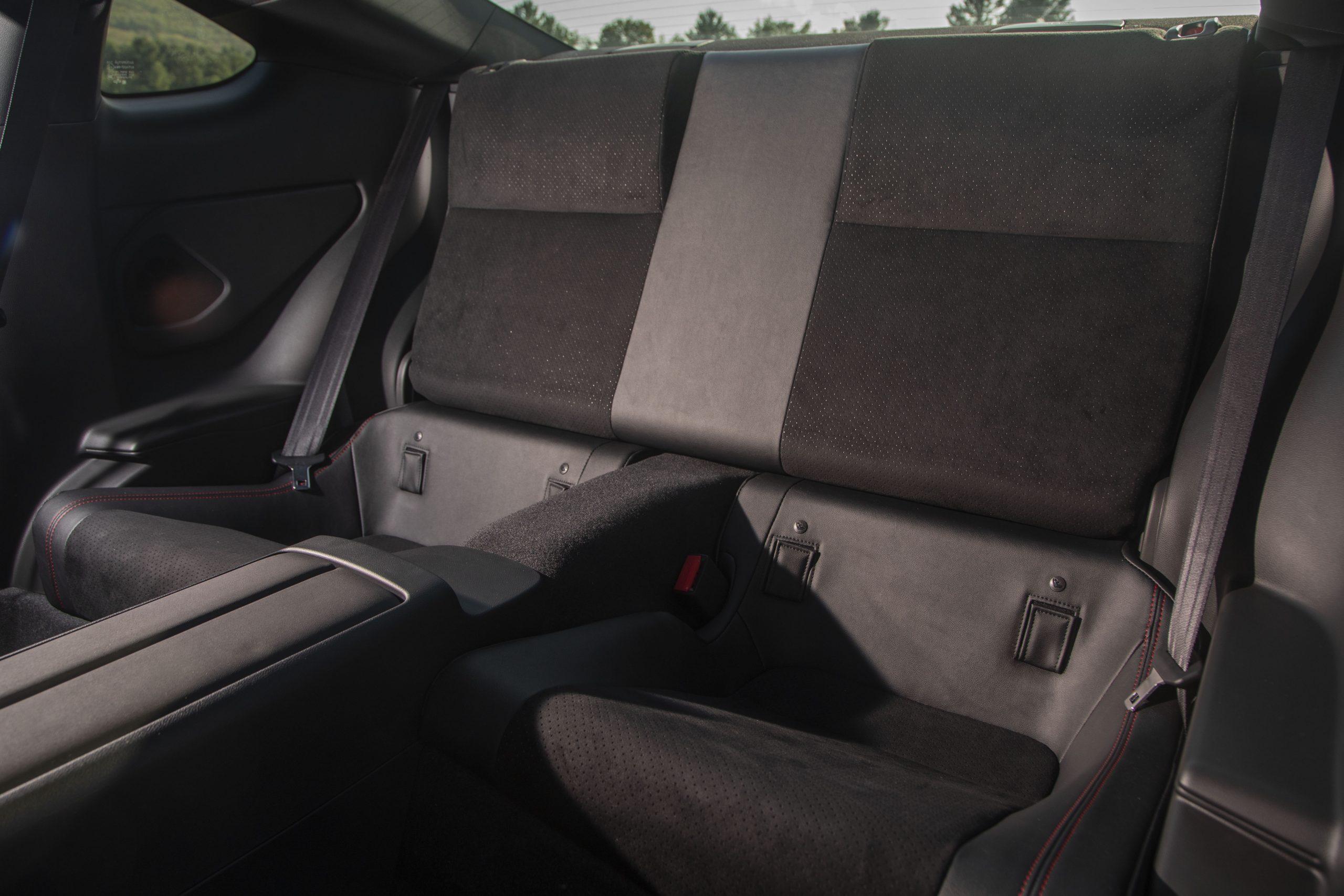 2022 Subaru BRZ interior rear seats