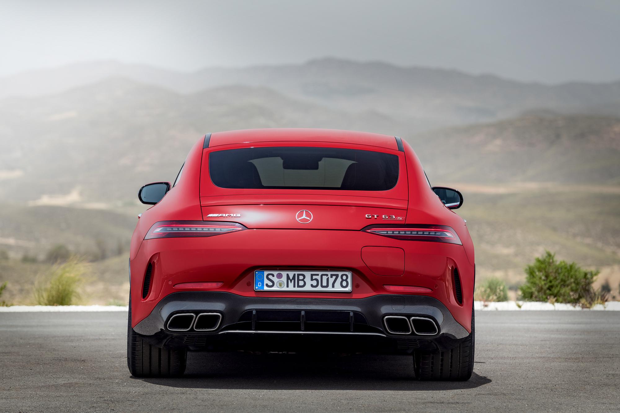 2023-Mercedes-AMG-GT-63-S-E-Performance rear