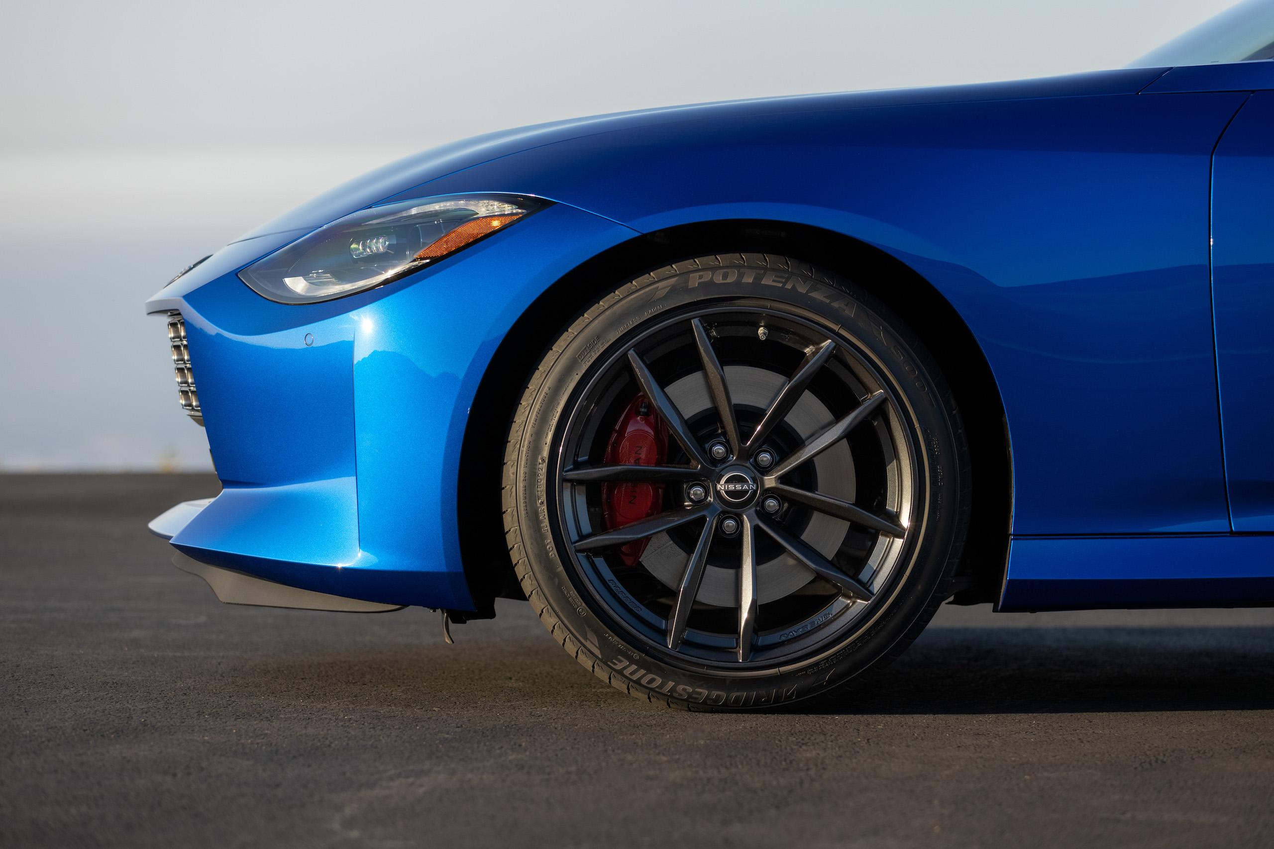 2023 Nissan Z front fascia profile