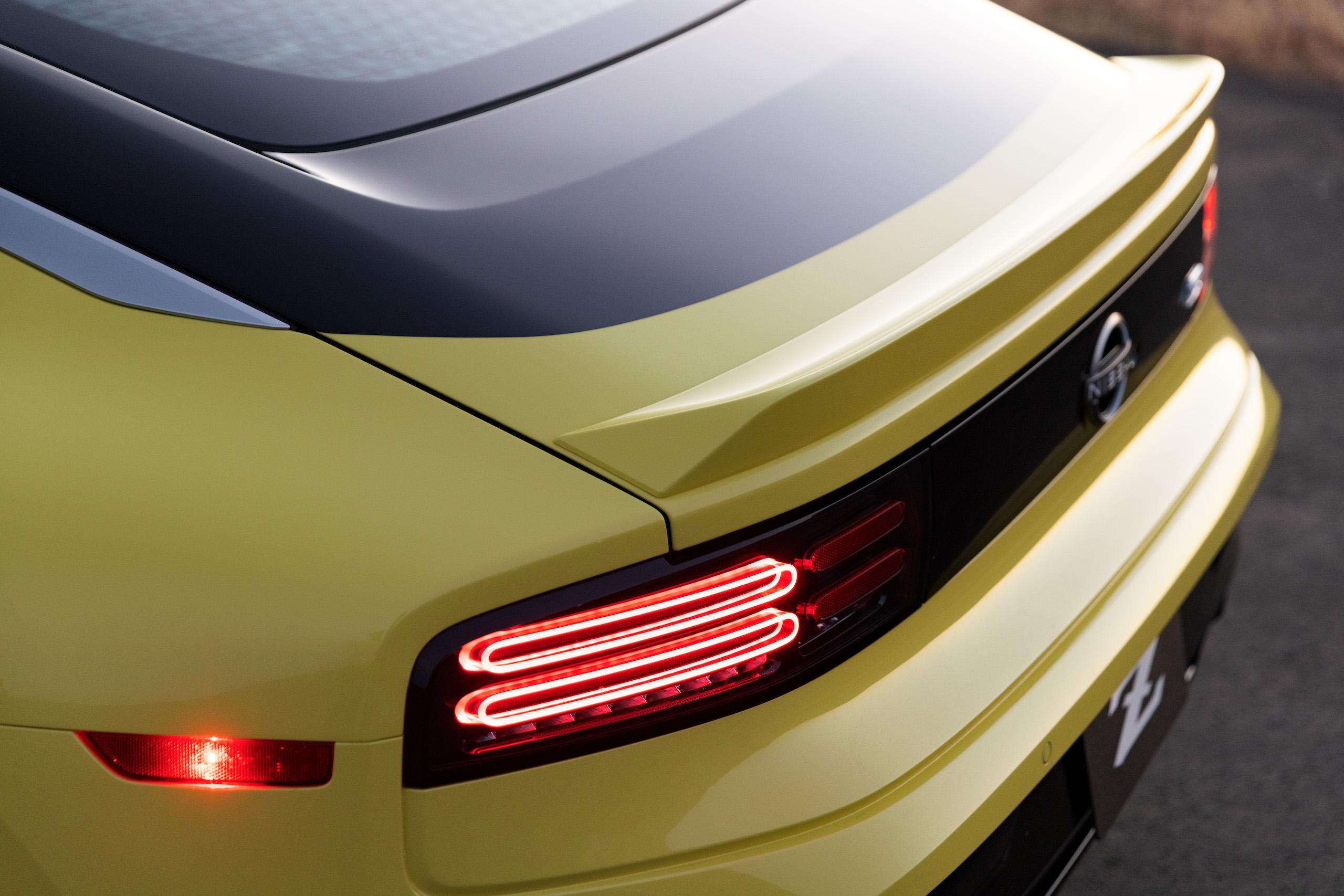 2023 Nissan Z rear fascia