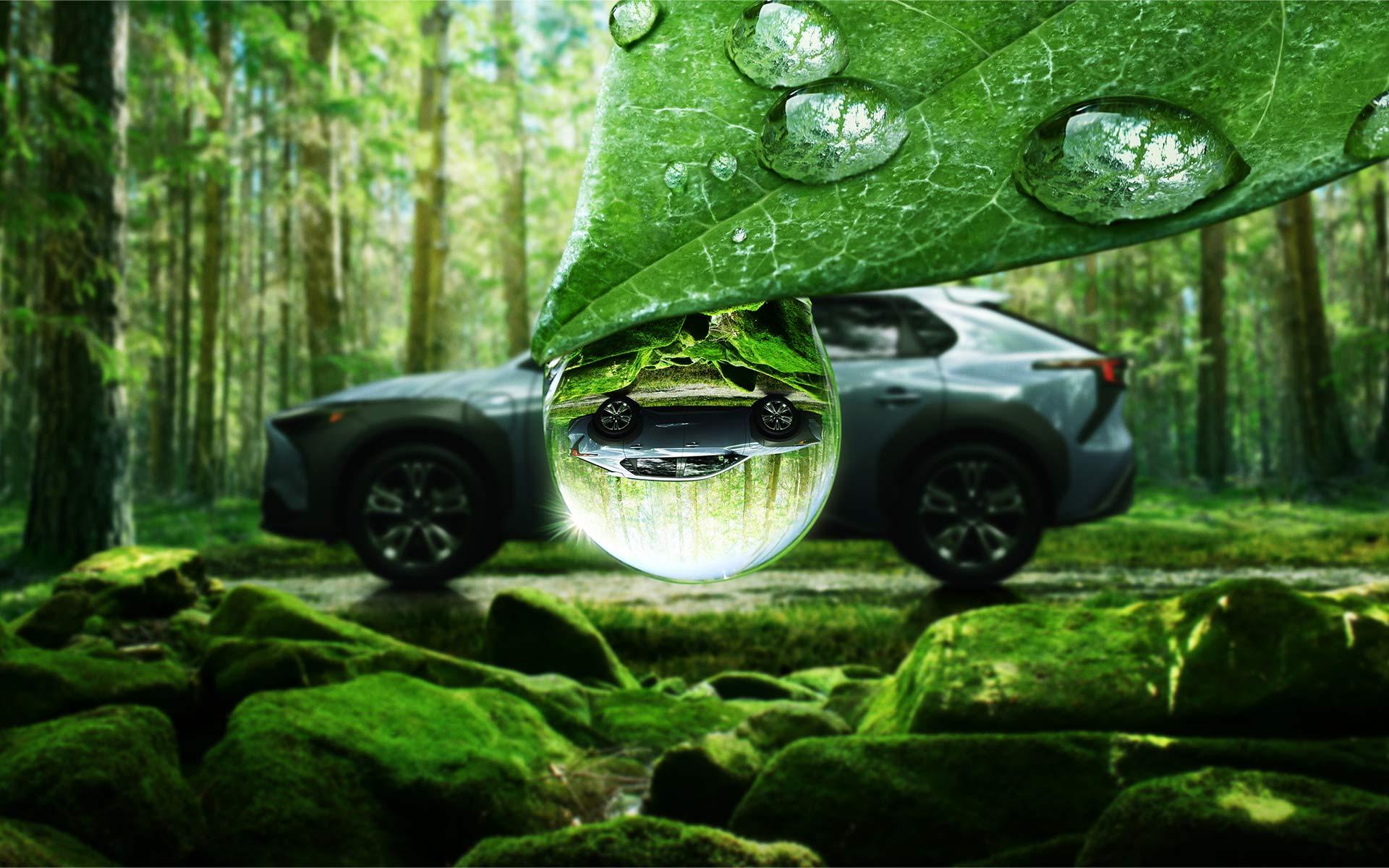Subaru Solterra side profile