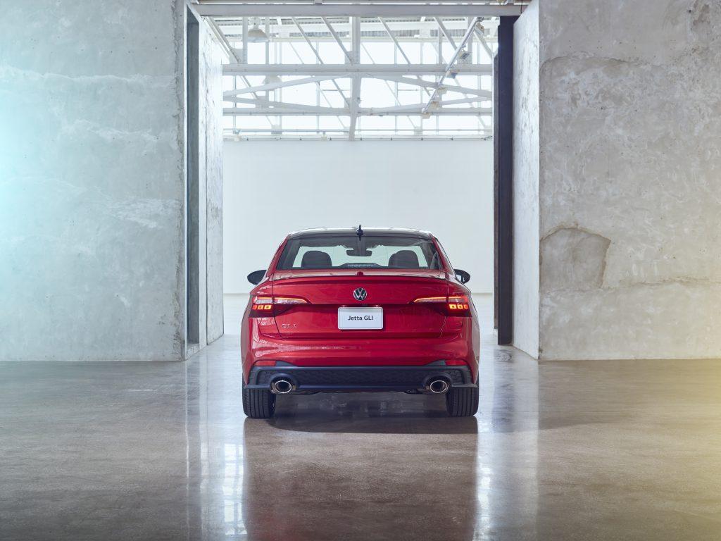 2022 VW GLI facelift rear