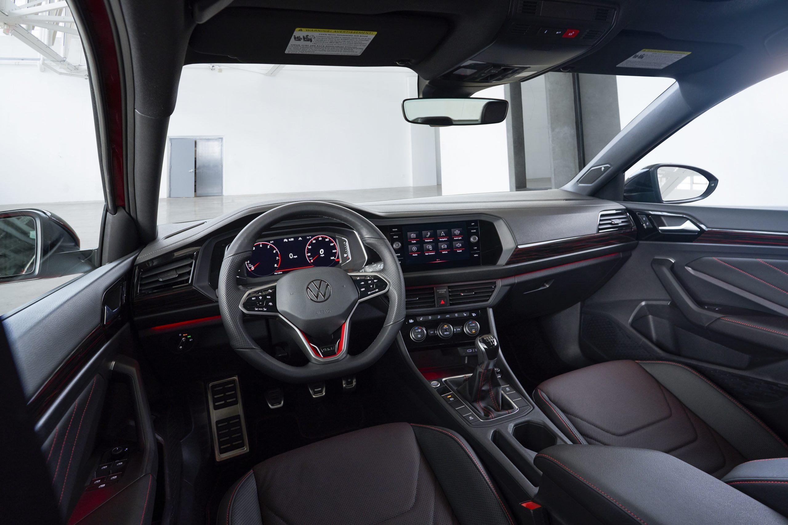 2022 VW GLI interior update