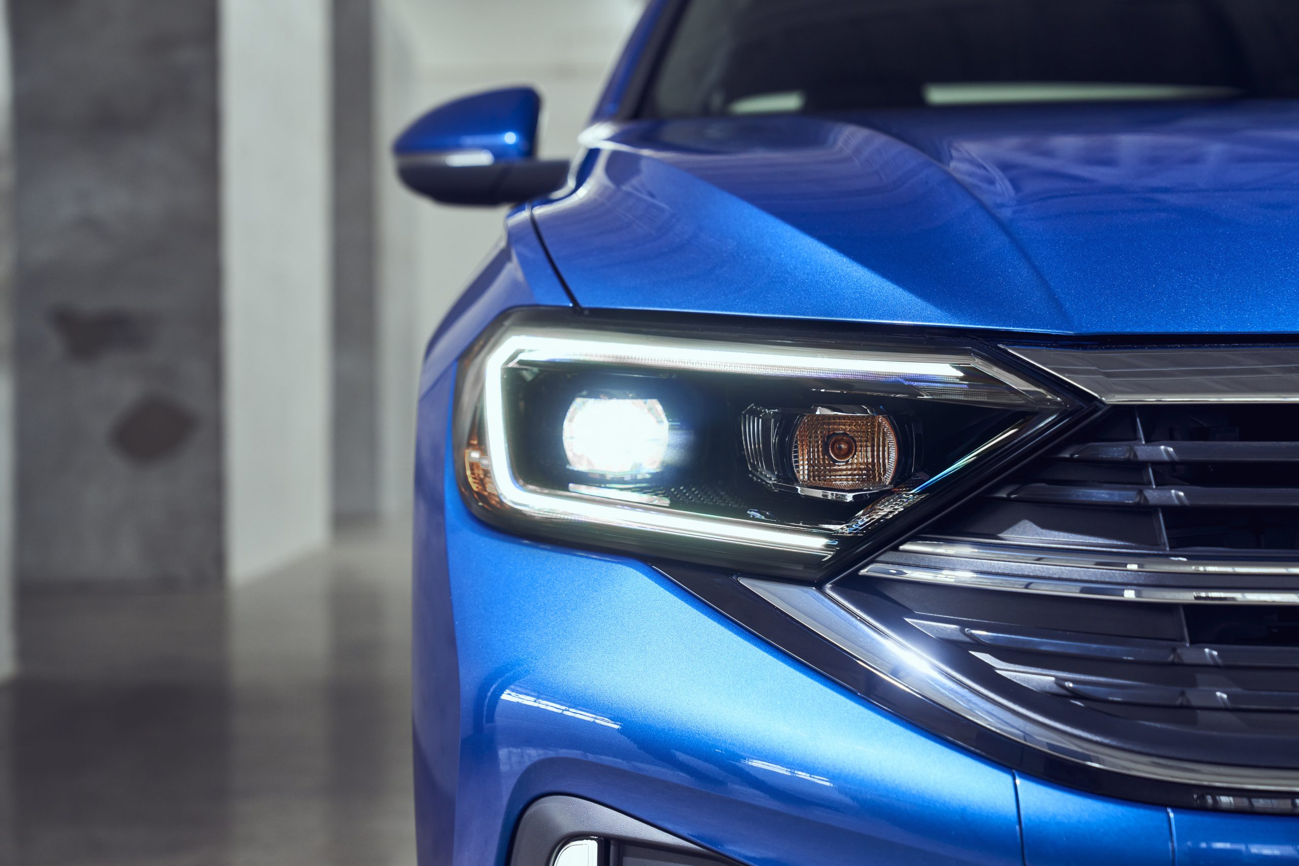 2022 VW Jetta 1.5 LED headlight facelift