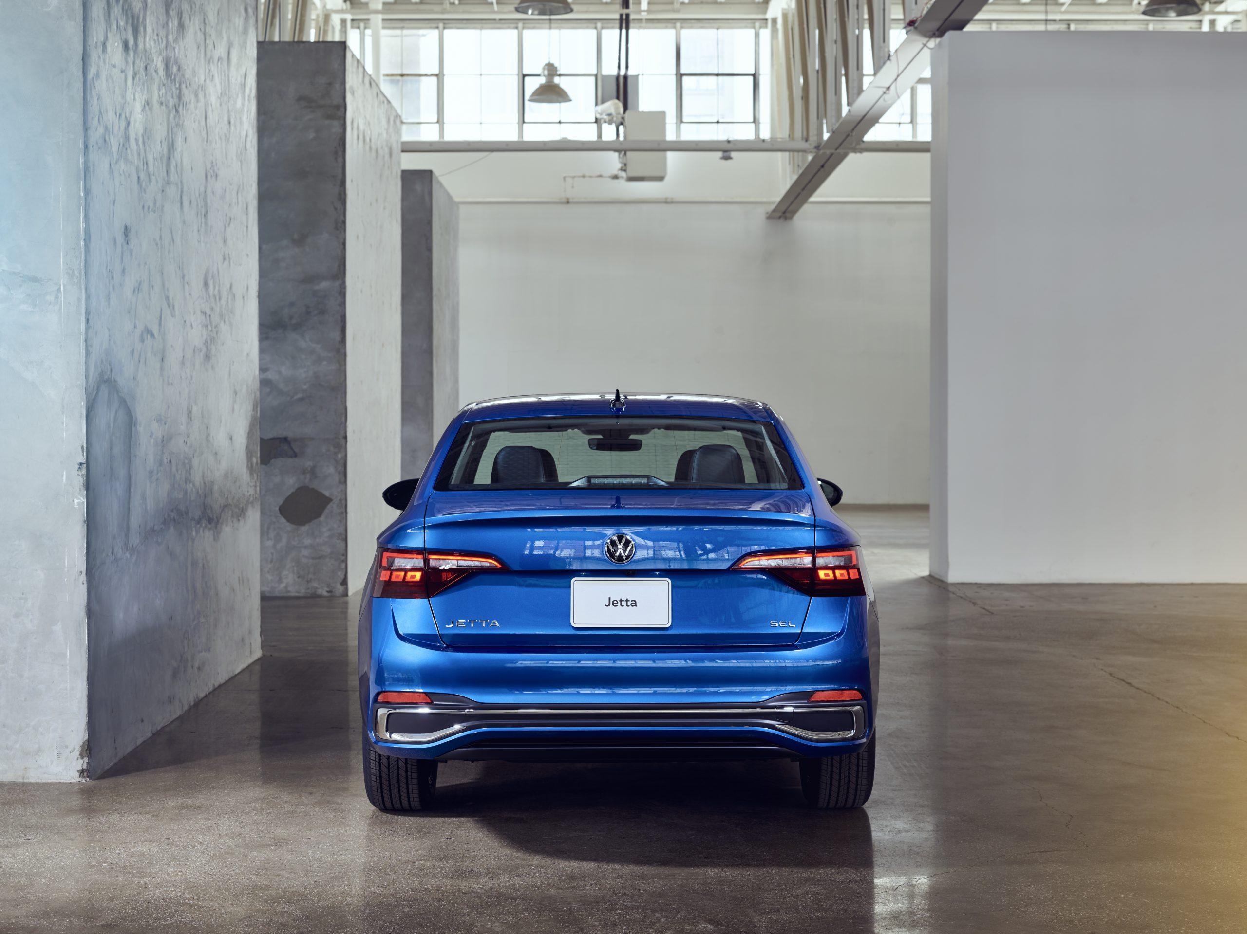 2022 VW Jetta facelift rear