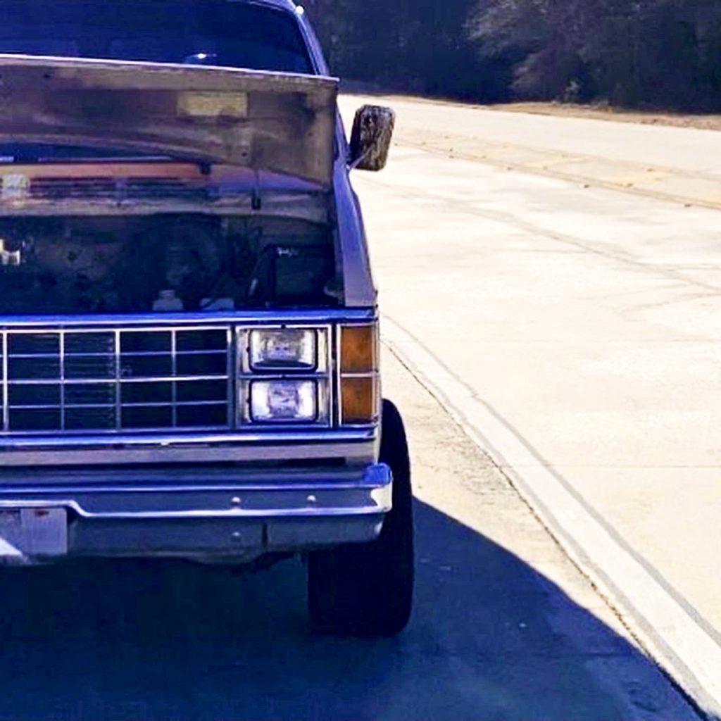 Vintage Van front half wheel offset