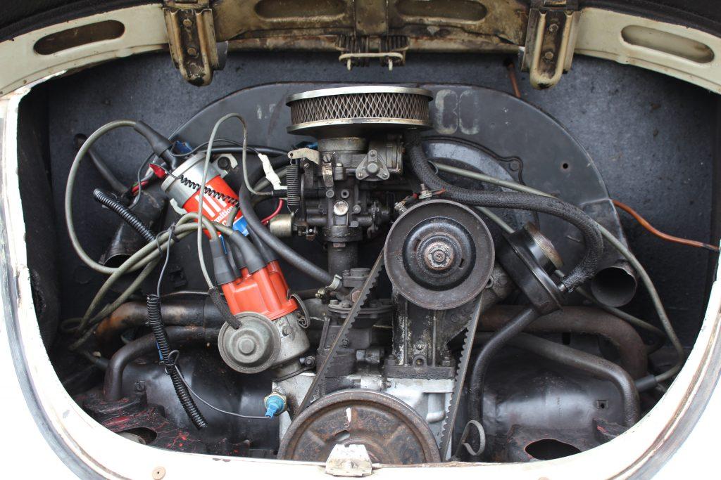 1969 VW Beetle 1500 engine
