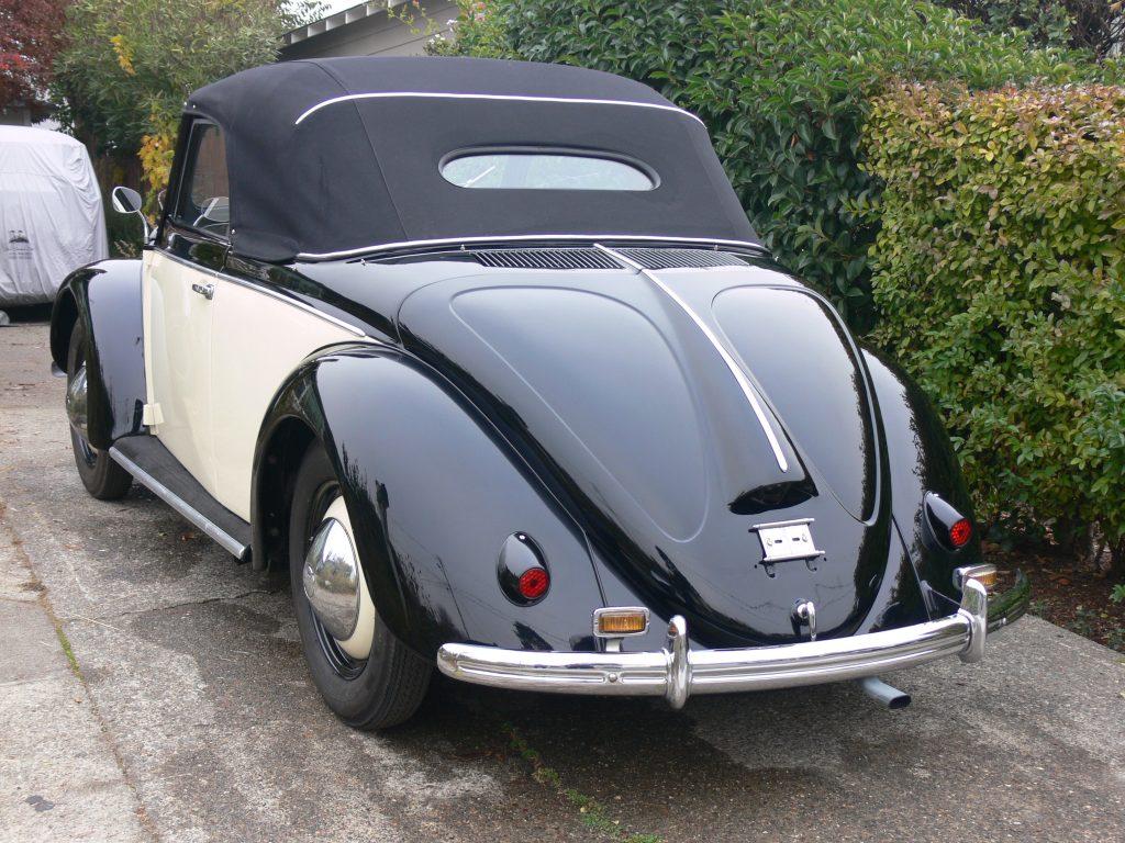1950 Beetle convertible