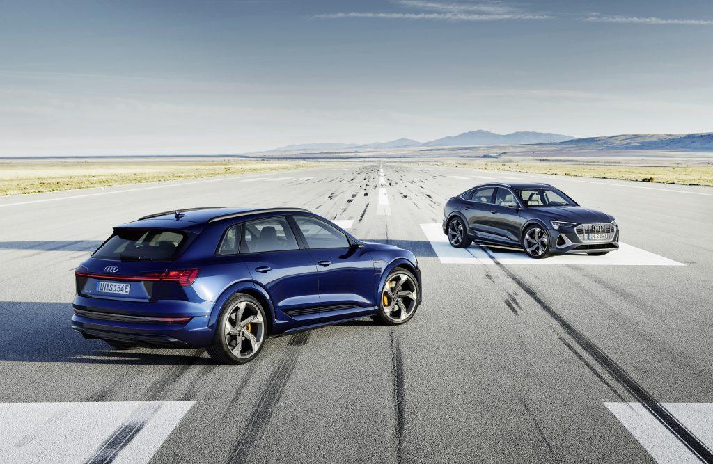 2022 Audi e-tron S and Audi e-tron S Sportback