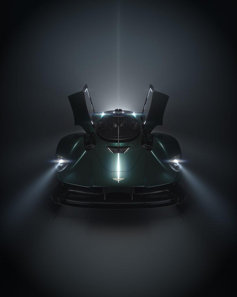 Aston Martin Pebble Beach 2021 Valkyrie roadster