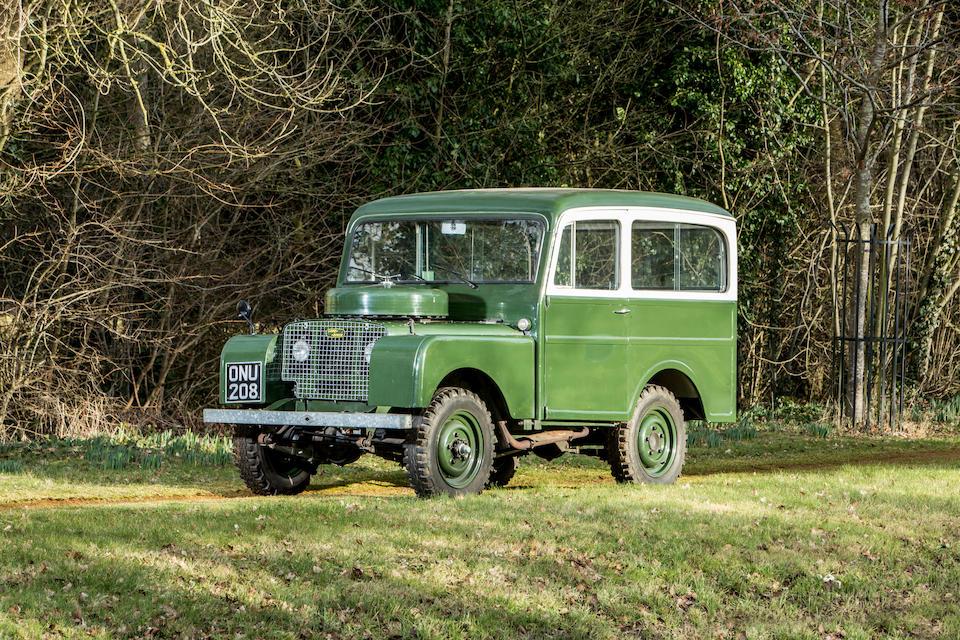 Land Rover Series I Station Wagon front three-quarter