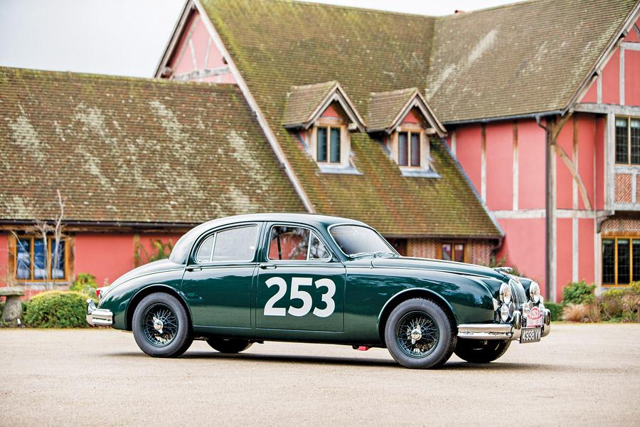 1957 Jaguar 3.4-litre Mk 1 front three-quarter
