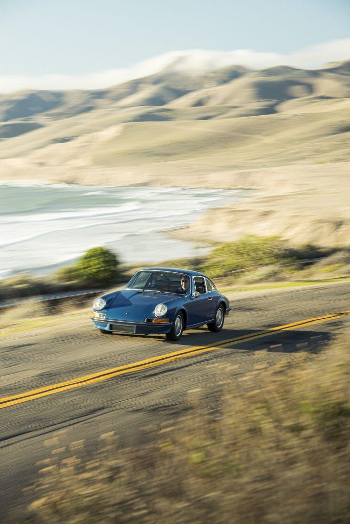 1970 Porsche 911 front three-quarter driving action