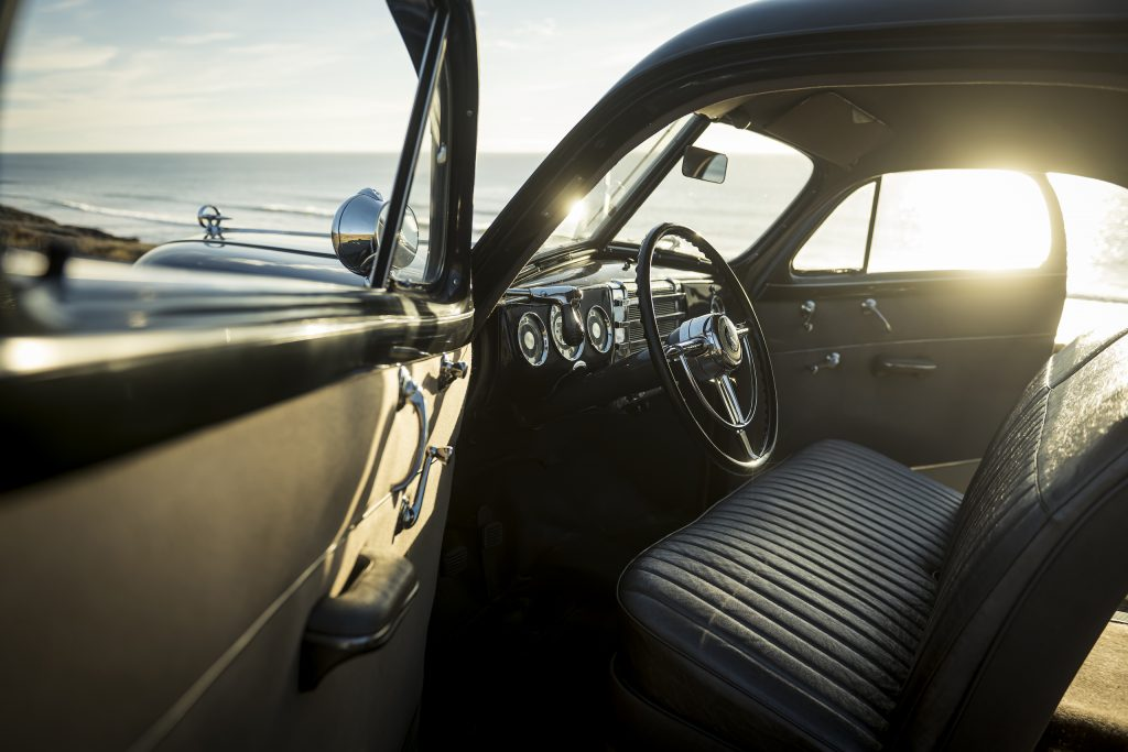 1946 Buick Special interior sunset glow