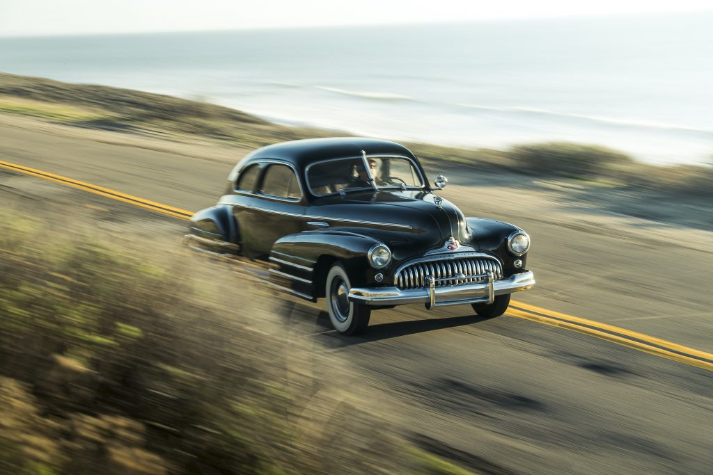 1946 Buick Special front three-quarter driving action