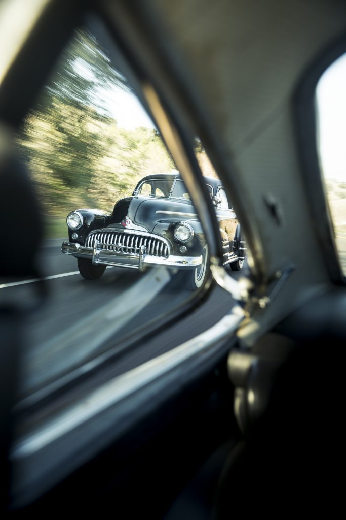1946 Buick Special driving action