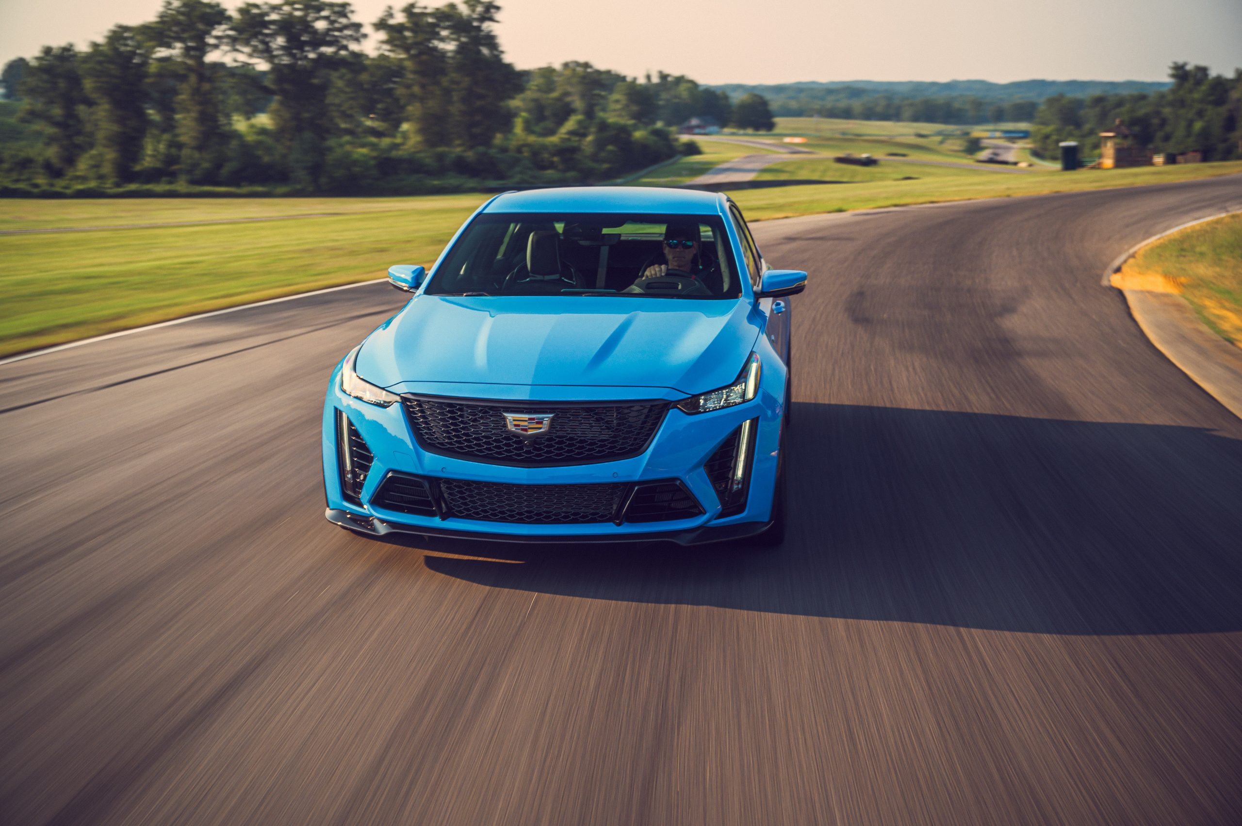 2022 Cadillac CT5-V Blackwing front action