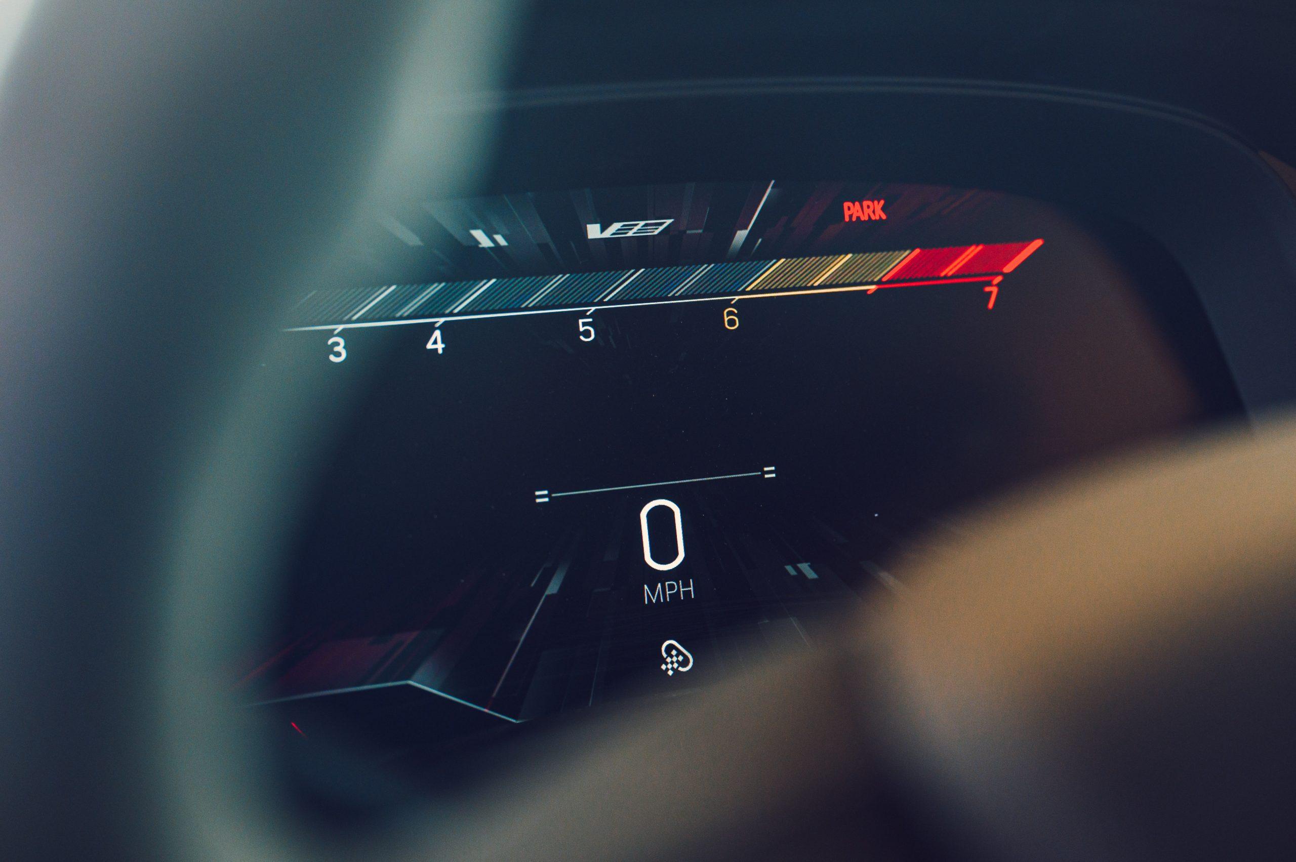 2022 Cadillac CT5-V Blackwing digital dash
