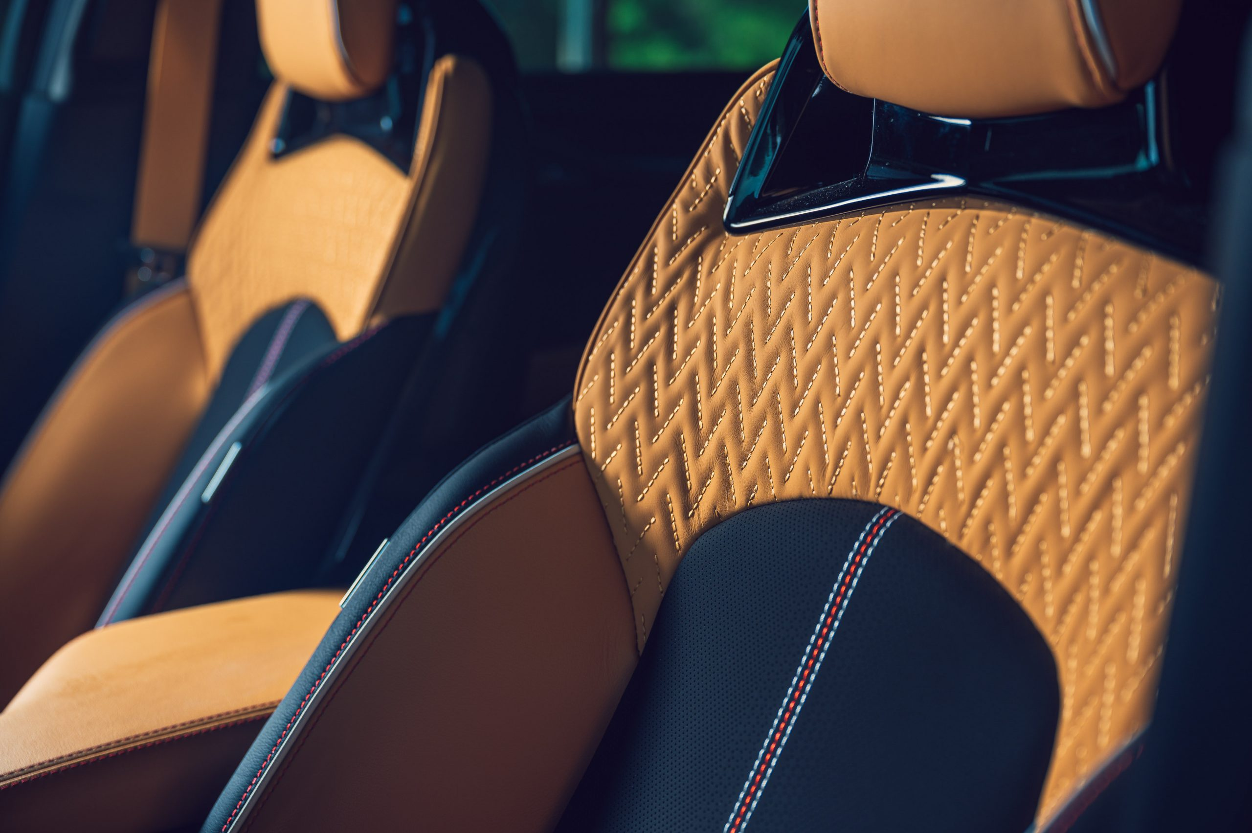 2022 Cadillac CT5-V Blackwing front seat detail