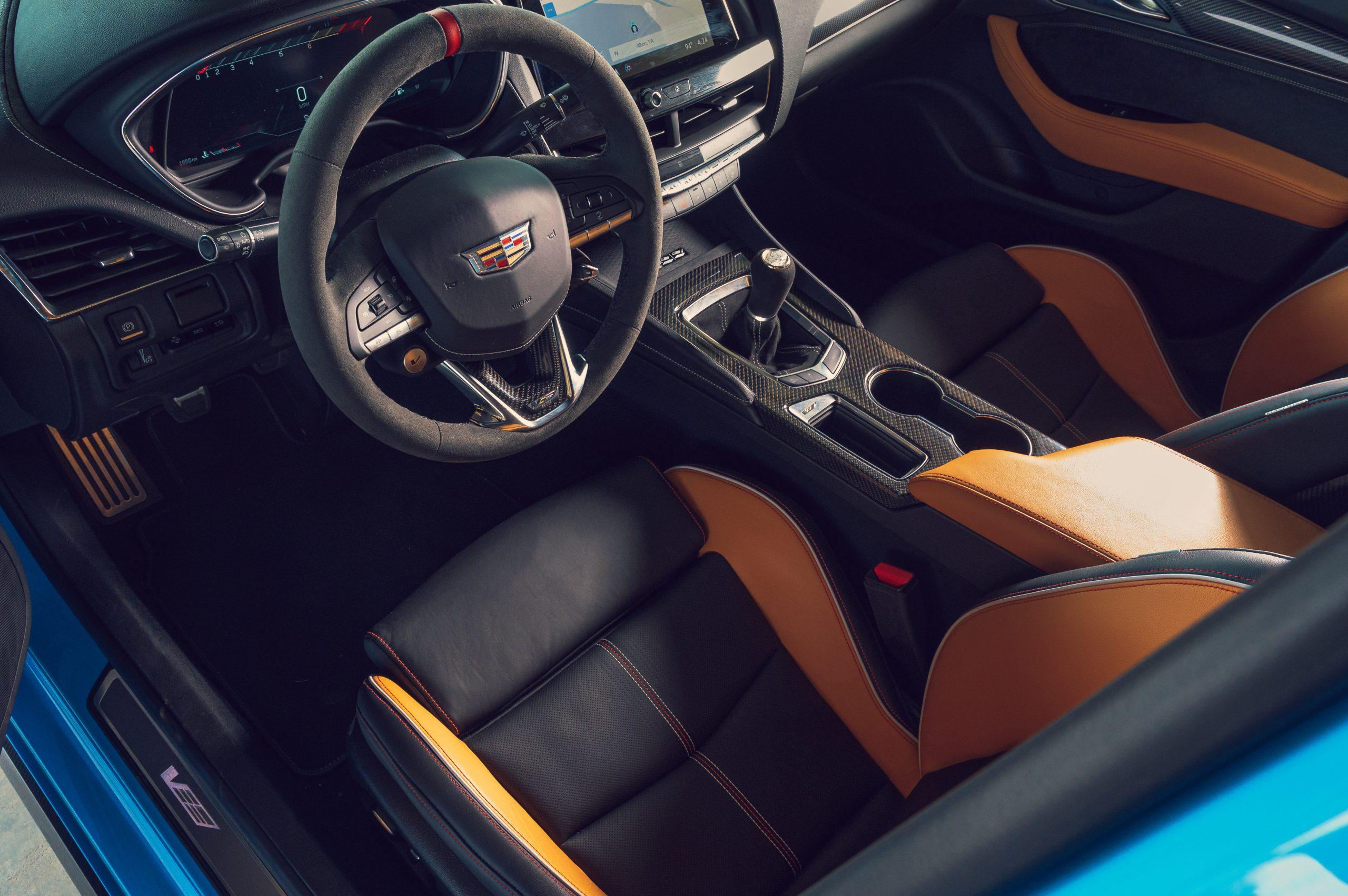 2022 Cadillac CT5-V Blackwing interior