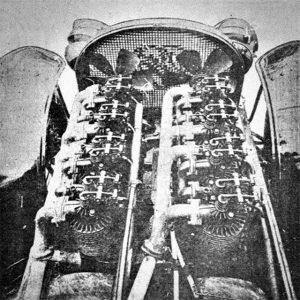 1907-08 Carter Two-Engine Car - engine