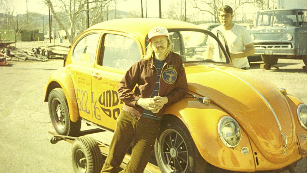 "Ron Fleming VW Beetle ""Underdog"" California Tuning Look 1960s"