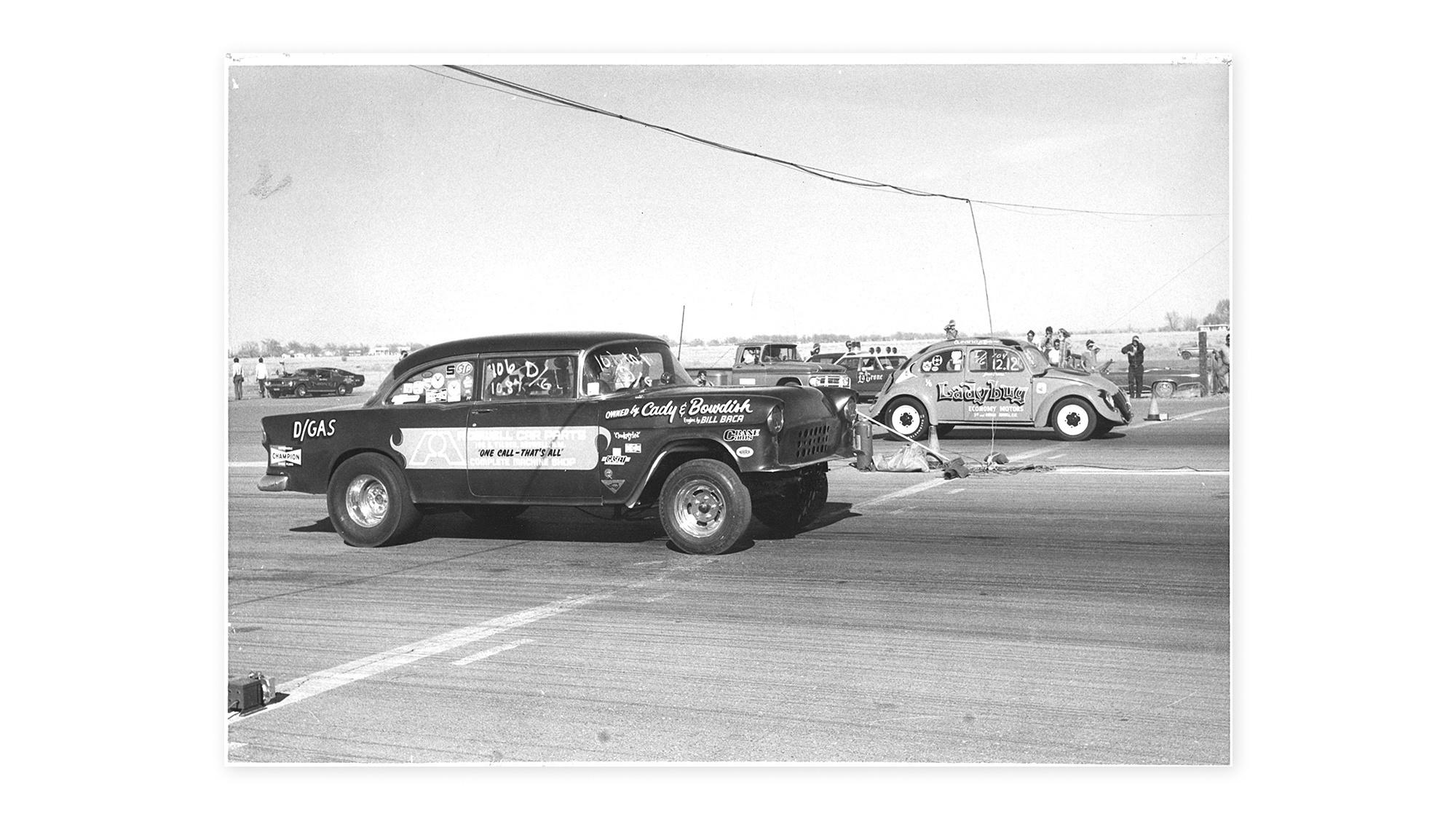 "VW Beetle drag strip ""The California Looker"""