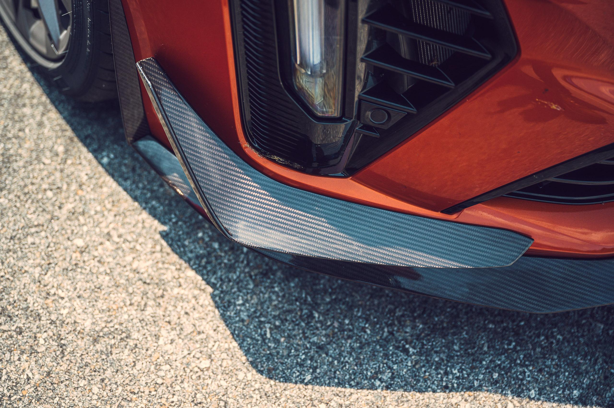 CT4-V Blackwing carbon detail