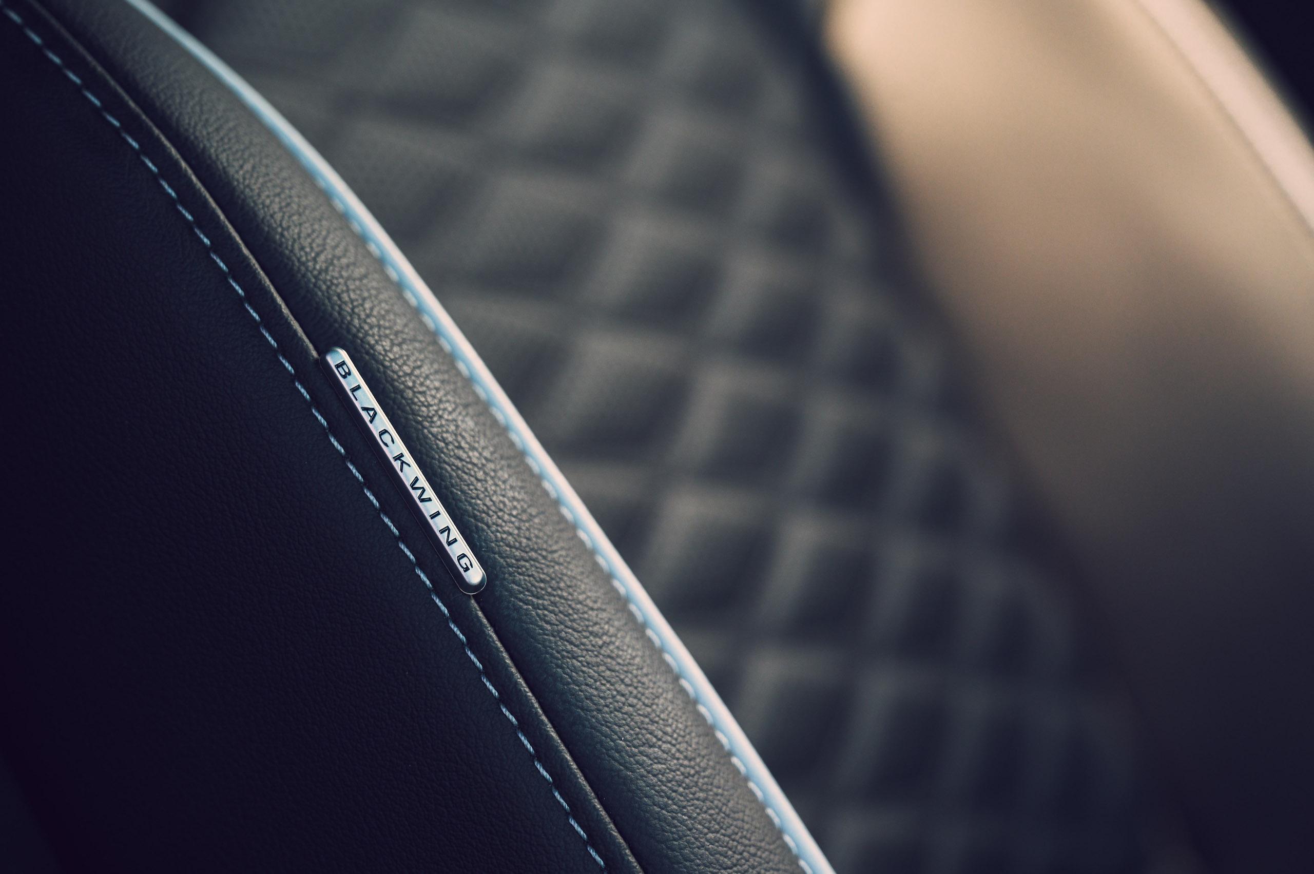 CT4-V Blackwing interior seat stitching