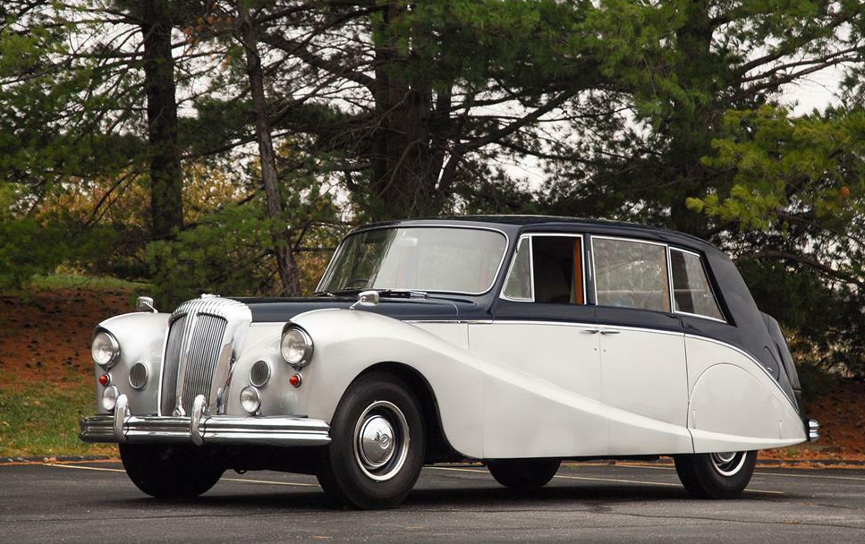 1954 Daimler DK400 front three-quarter