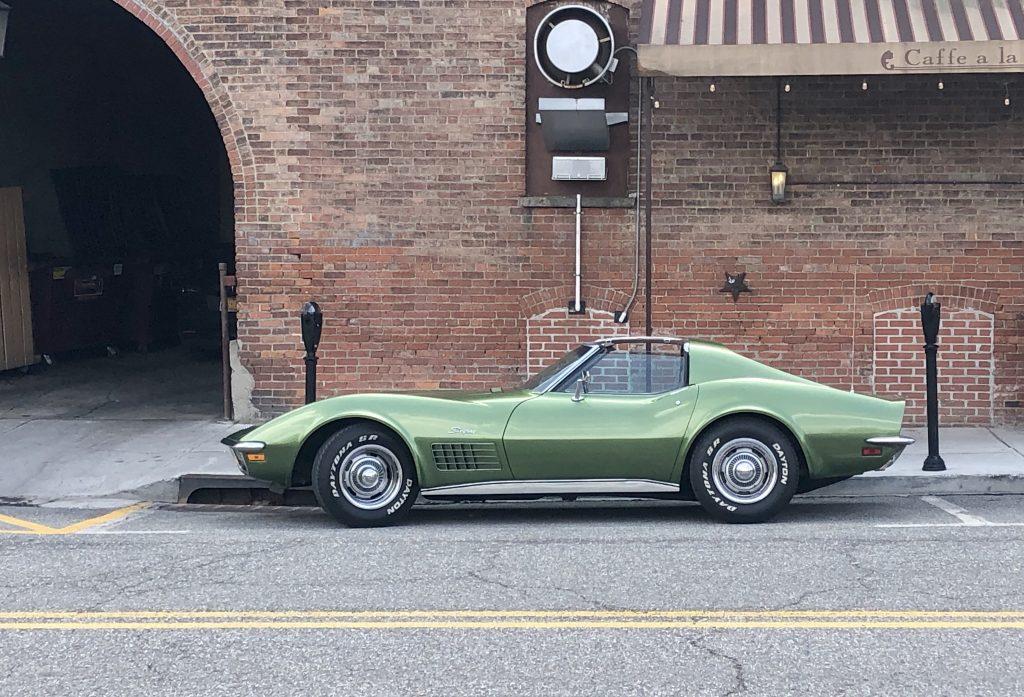 DeRosa Corvette side profile