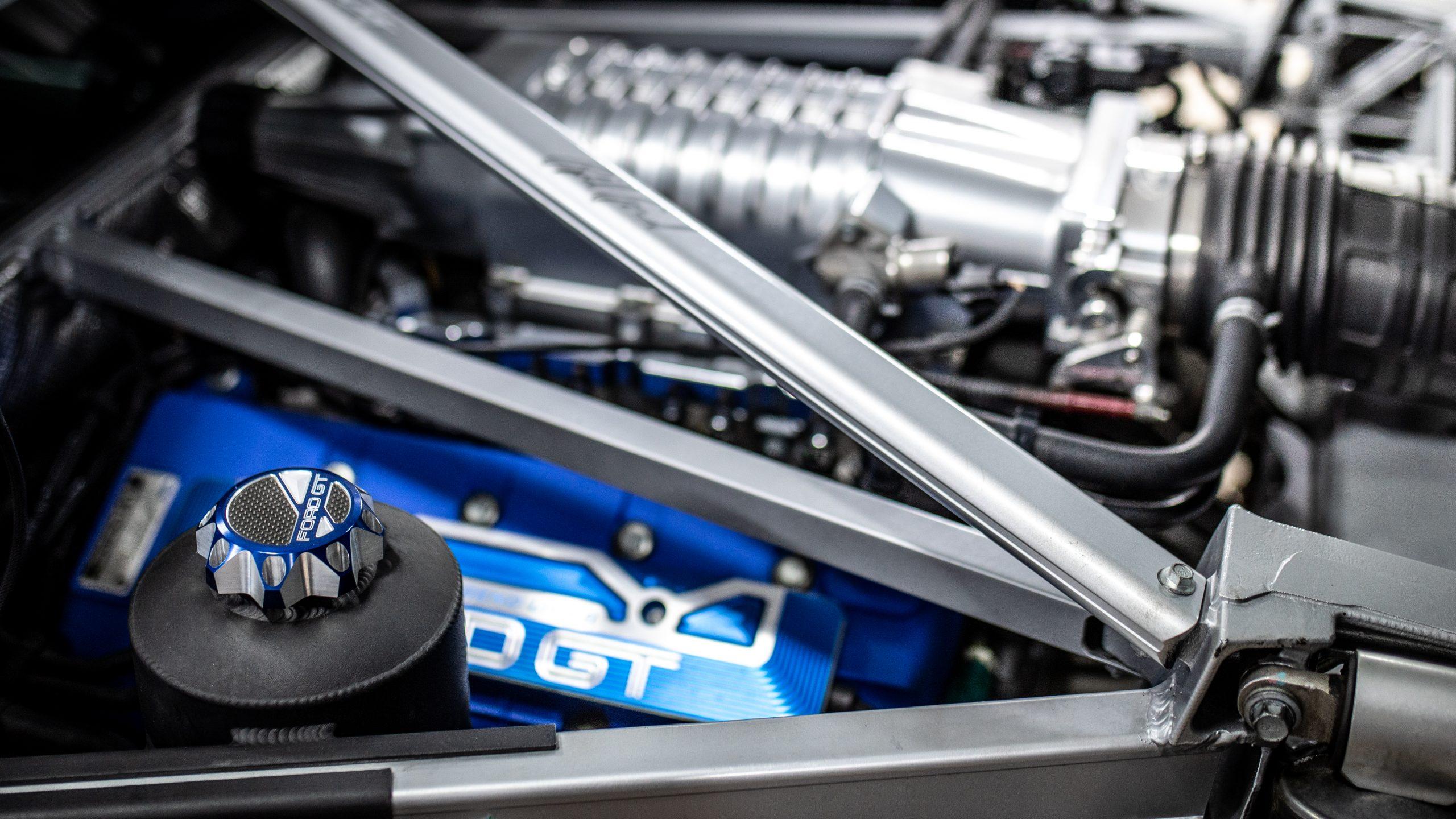 GT Resto Shop engine bay detail