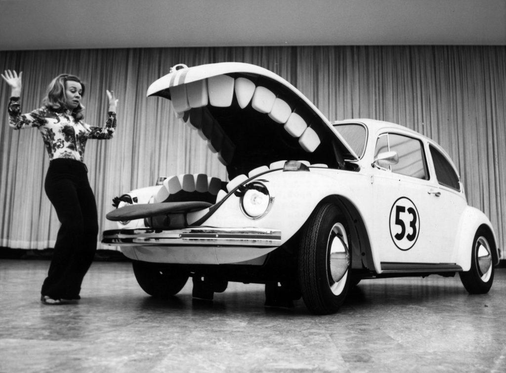 Hungry Herbie VW Beetle Berlin auto show
