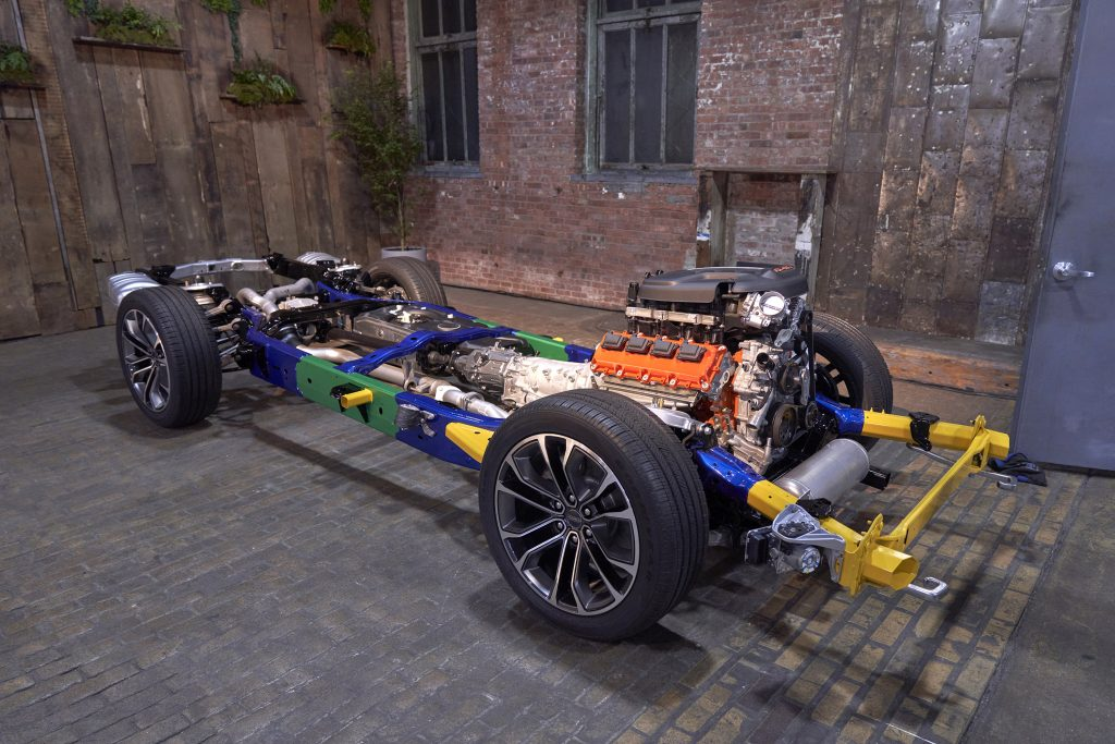 2022 Grand Wagoneer chassis