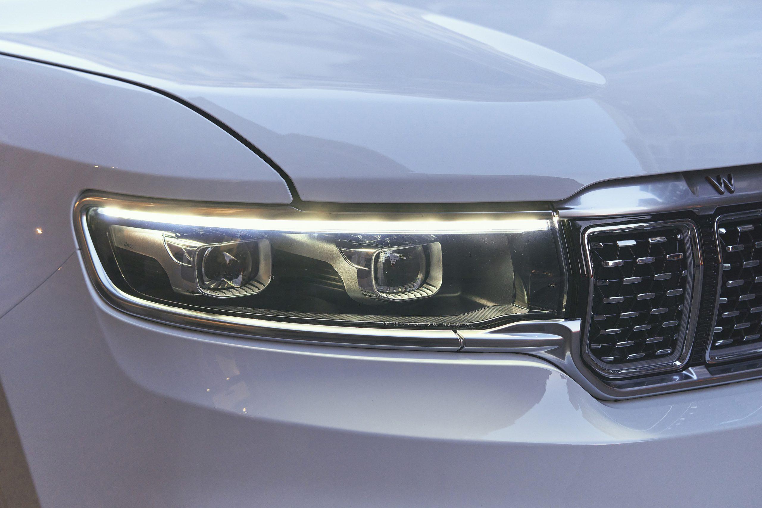 2022 Grand Wagoneer headlight