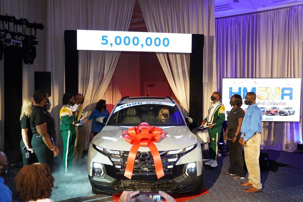 Hyundai five millionth vehicle