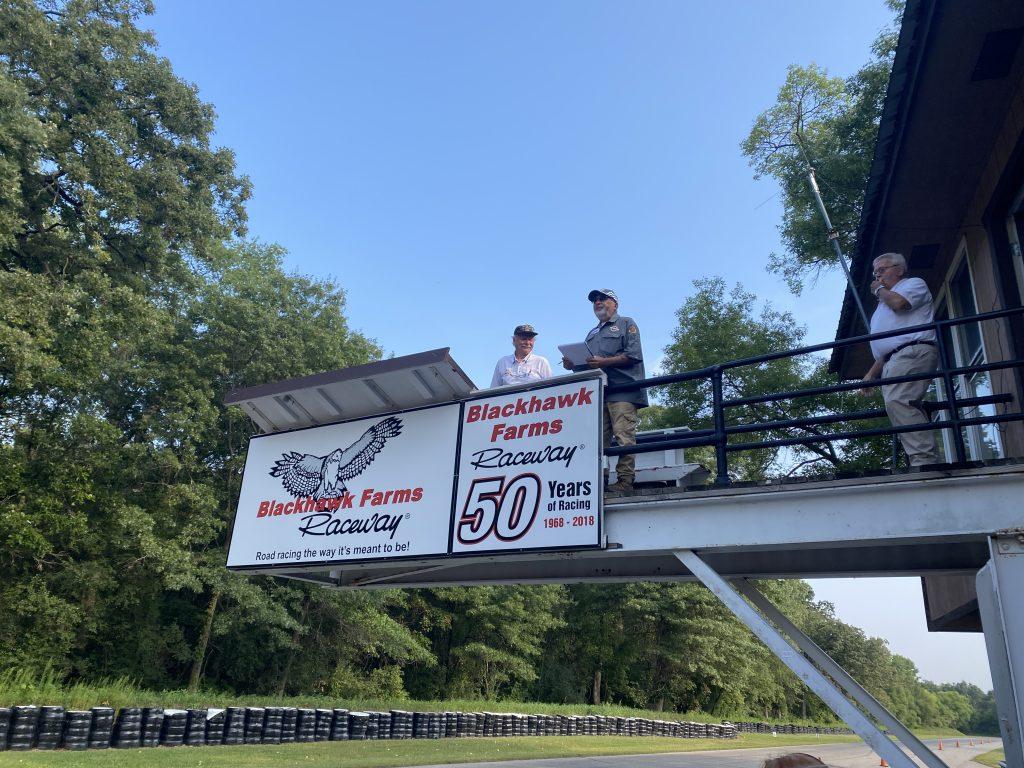 blackhawk farms raceway flag stand