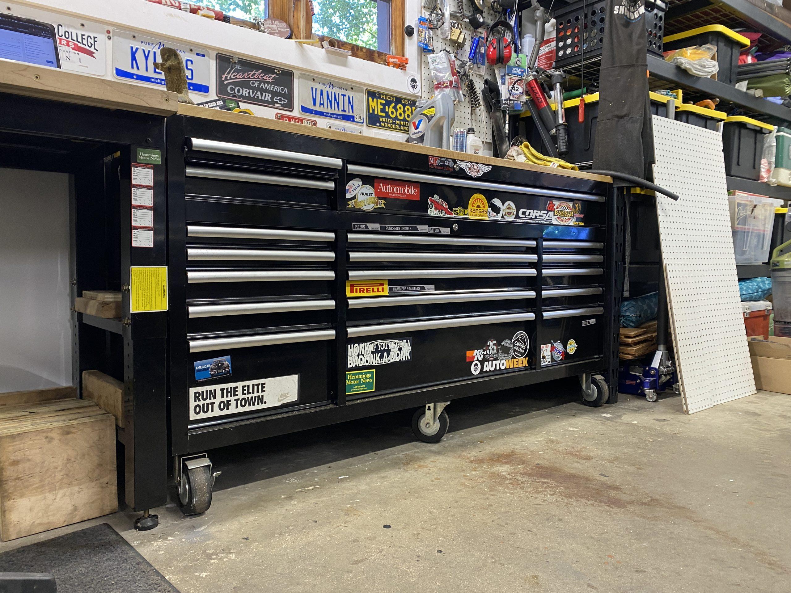 wheeled toolbox