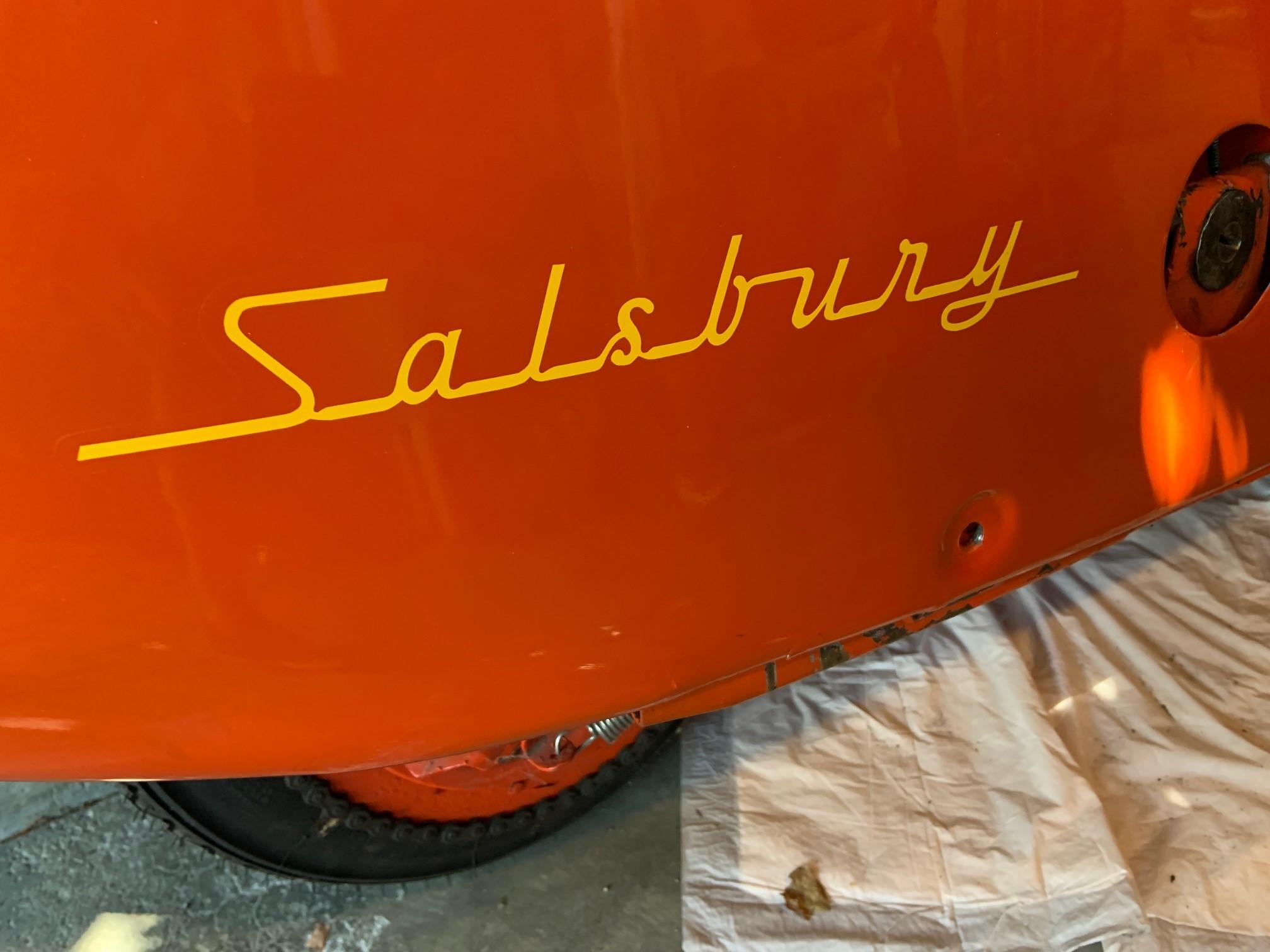 Josh Rogers - 1947 Salsbury - close up rear