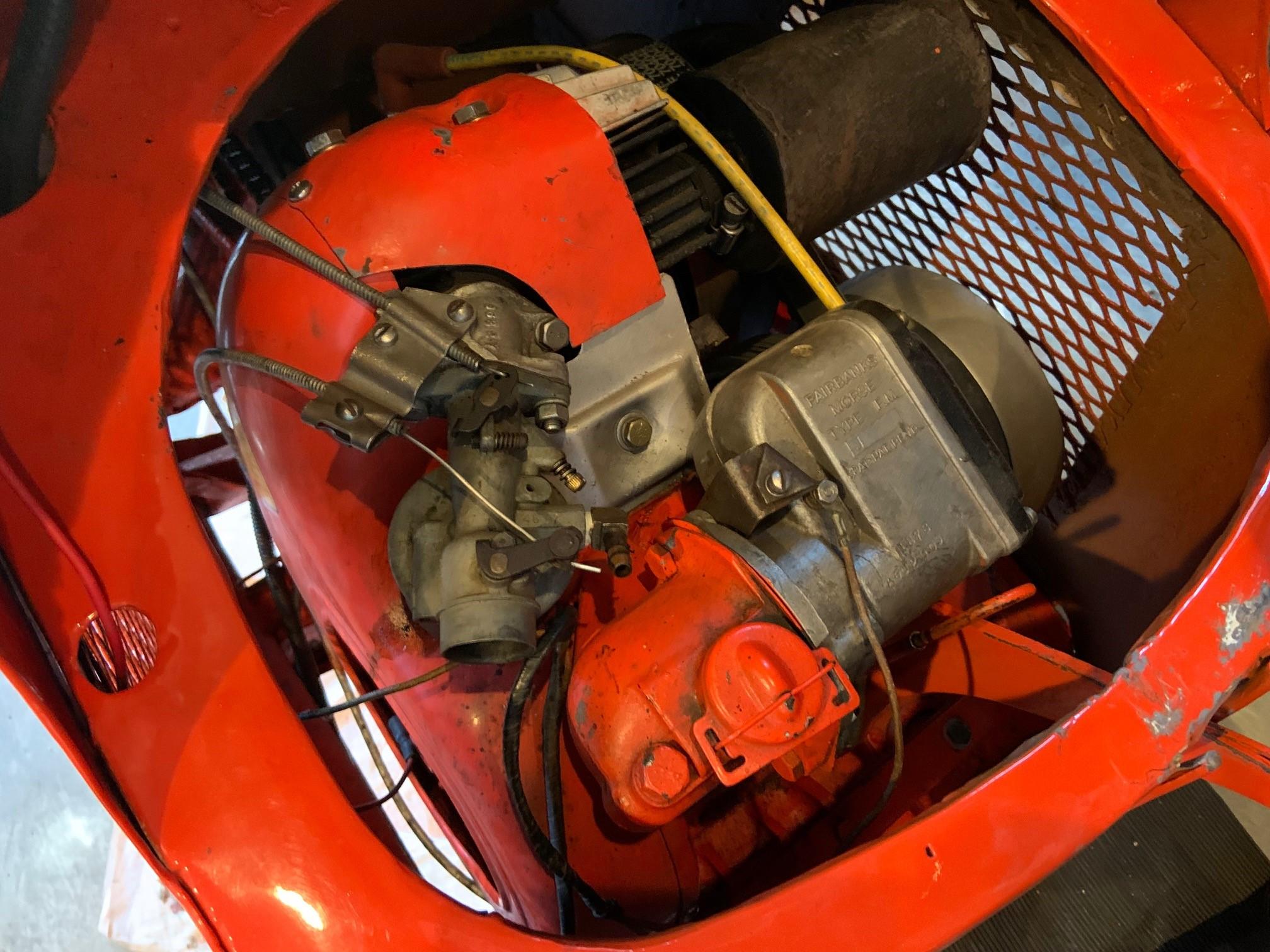Josh Rogers - 1947 Salsbury - engine