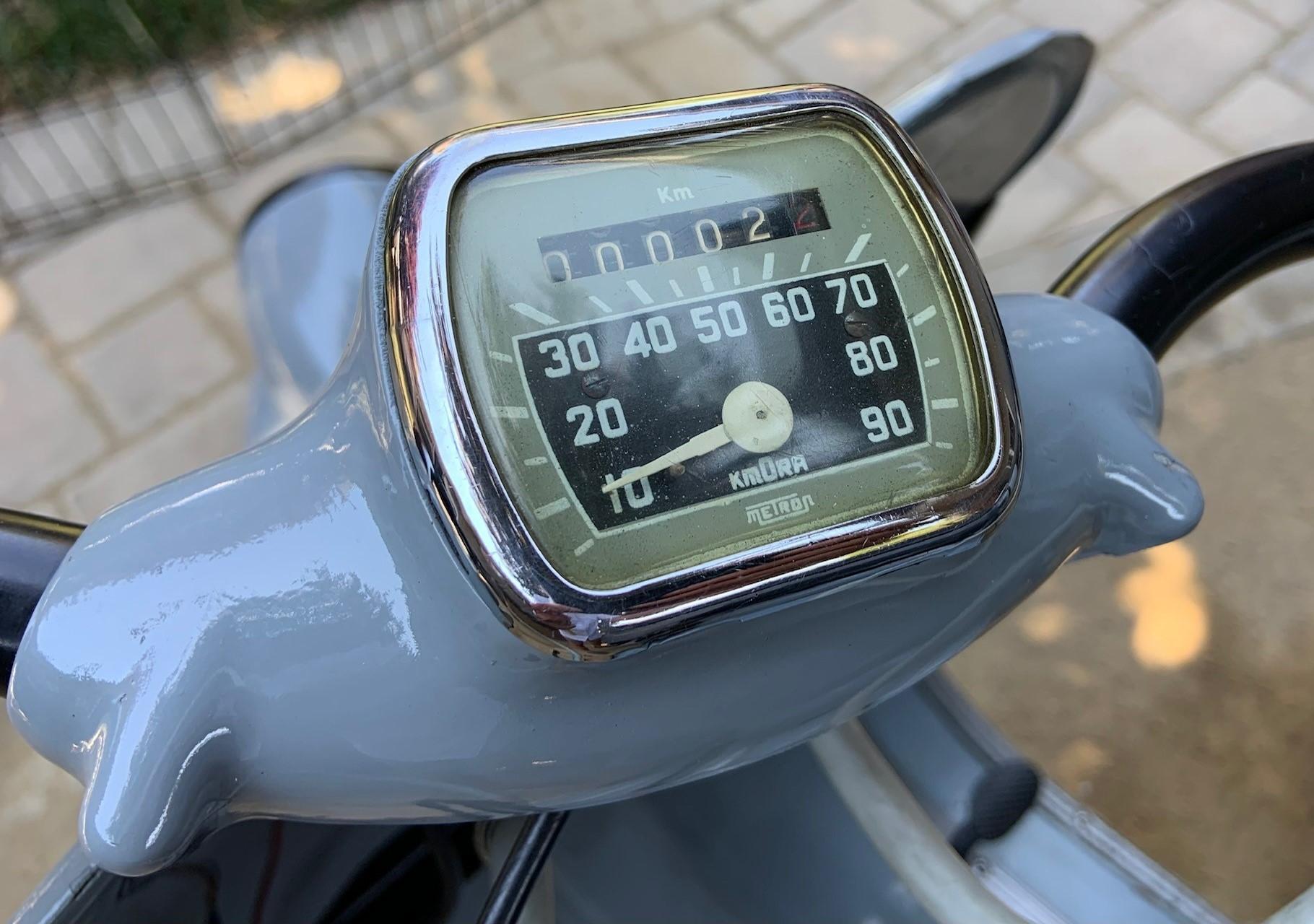 Josh Rogers - 1956 Vespa Ape - speedometer