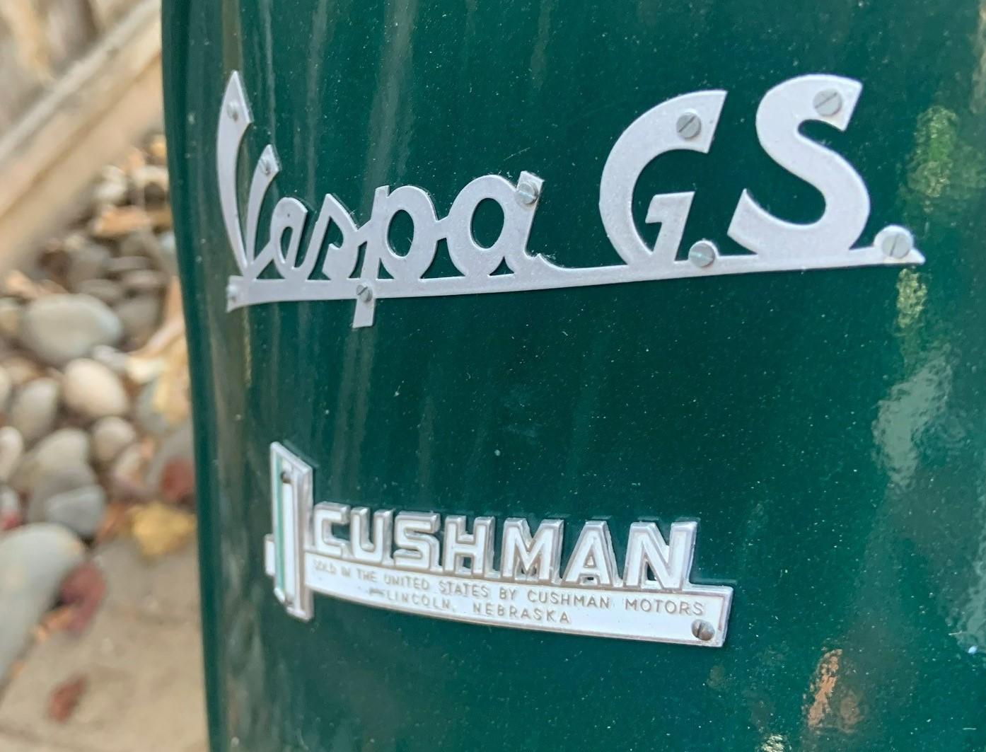 Josh Rogers - 1961 Cushman GS - Close-up front