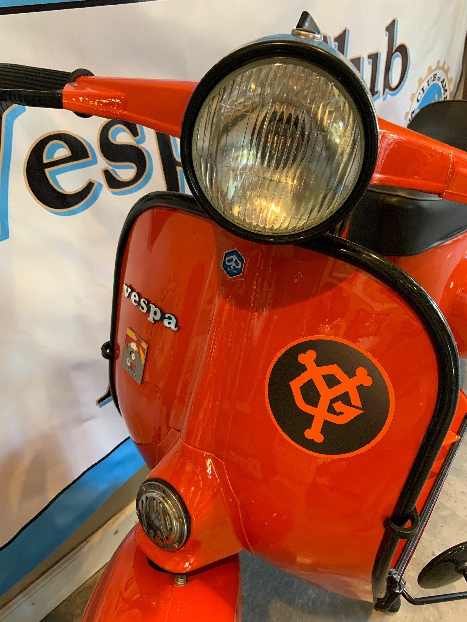 Josh Rogers - 1974 Piaggio Vespa 125 Primavera - front